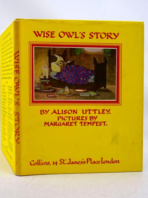 Photo of WISE OWL'S STORY written by Uttley, Alison illustrated by Tempest, Margaret published by Collins (STOCK CODE: 1317536)  for sale by Stella & Rose's Books
