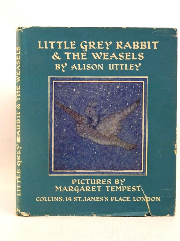 Photo of LITTLE GREY RABBIT & THE WEASELS written by Uttley, Alison illustrated by Tempest, Margaret published by Collins (STOCK CODE: 1317537)  for sale by Stella & Rose's Books