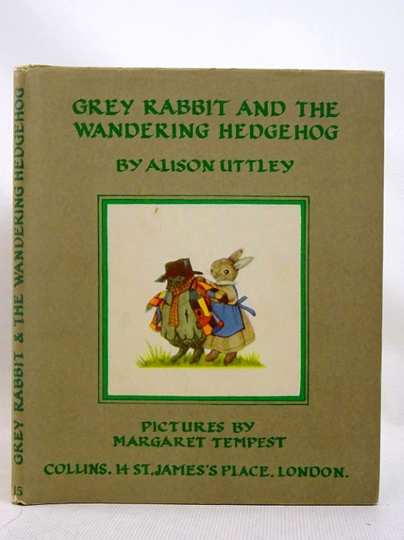 Photo of GREY RABBIT AND THE WANDERING HEDGEHOG written by Uttley, Alison illustrated by Tempest, Margaret published by Collins (STOCK CODE: 1317538)  for sale by Stella & Rose's Books