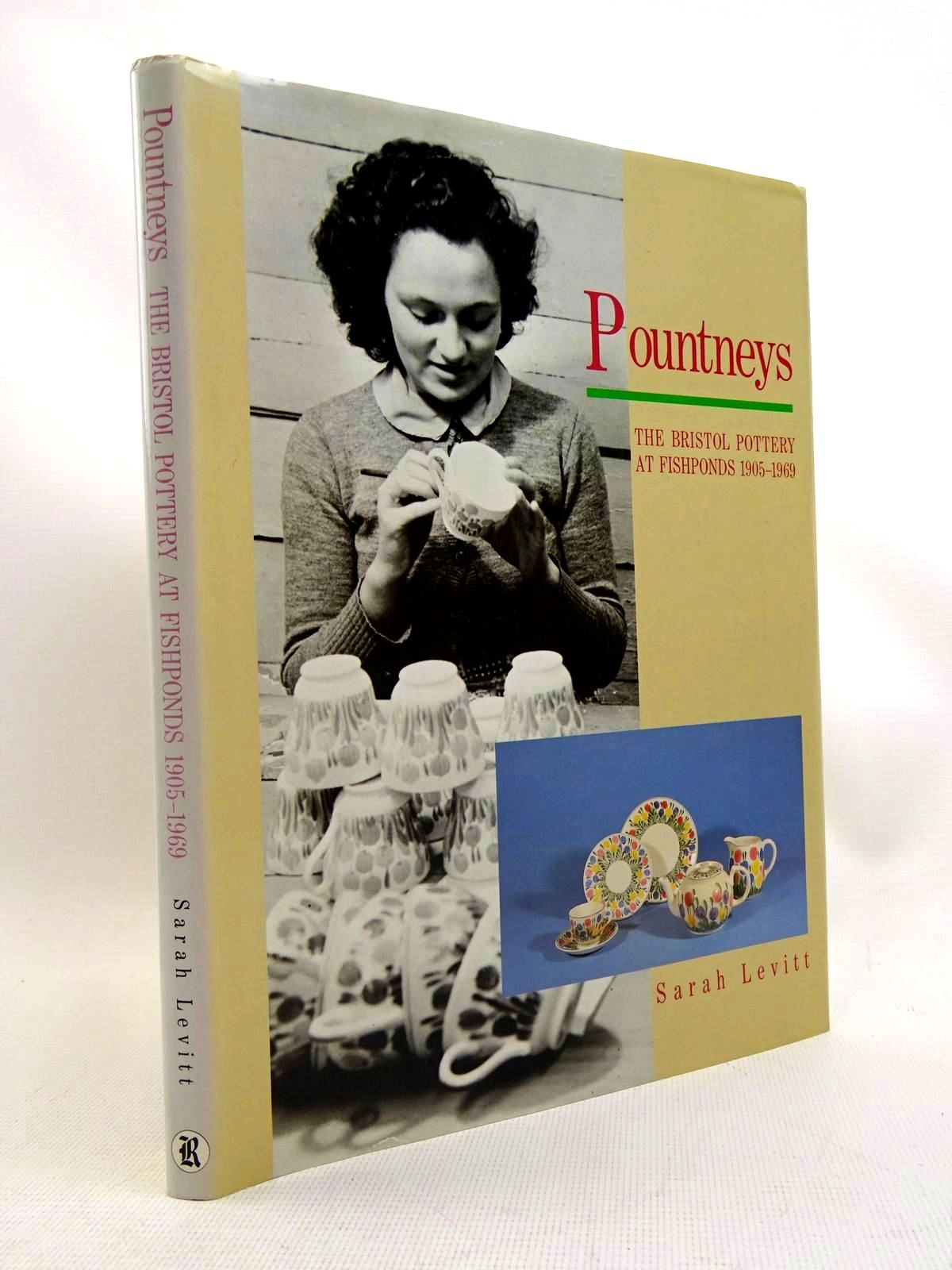 Photo of POUNTNEYS THE BRISTOL POTTERY AT FISHPONDS 1905-1969 written by Levitt, Sarah published by The Redcliffe Press (STOCK CODE: 1317552)  for sale by Stella & Rose's Books