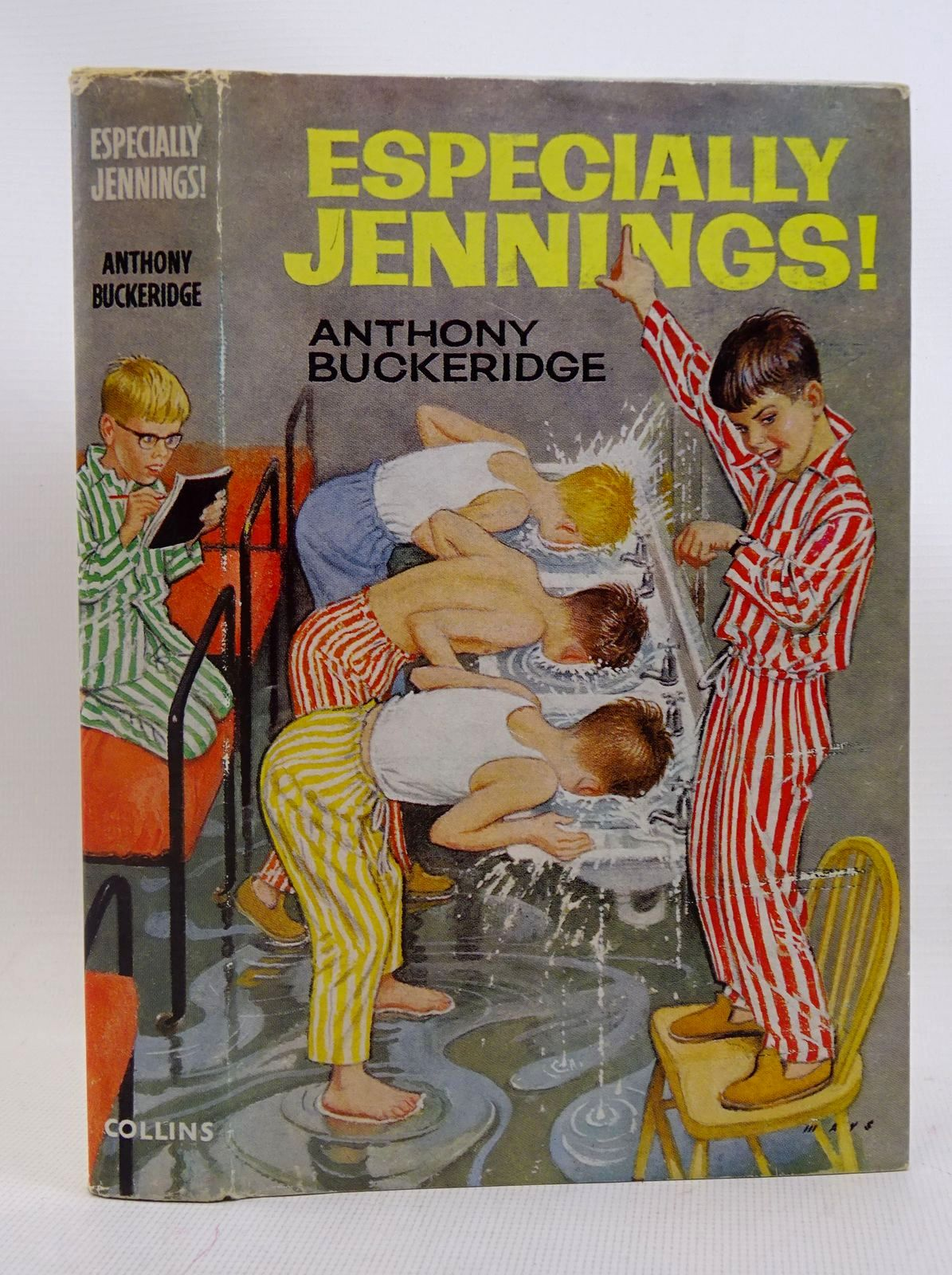 Photo of ESPECIALLY JENNINGS! written by Buckeridge, Anthony illustrated by Mays, D. published by Collins (STOCK CODE: 1317569)  for sale by Stella & Rose's Books