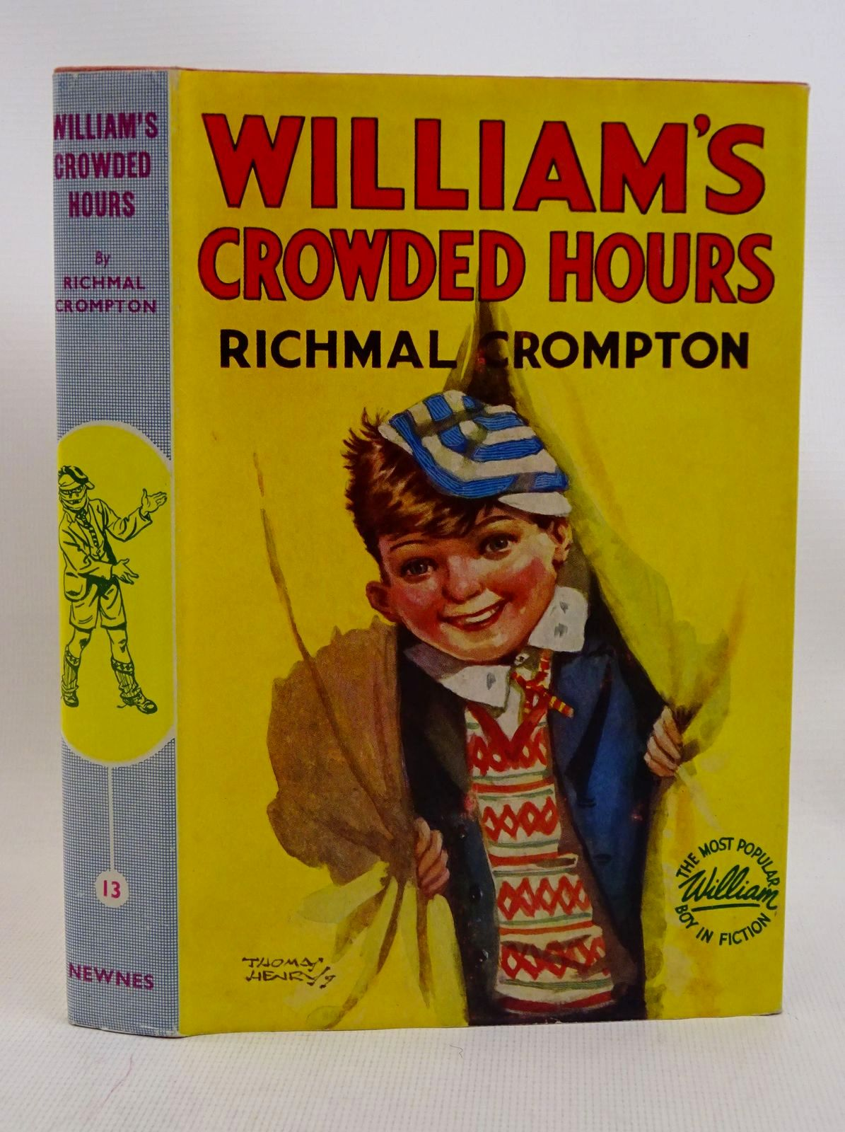 Photo of WILLIAM'S CROWDED HOURS written by Crompton, Richmal illustrated by Henry, Thomas published by George Newnes Ltd. (STOCK CODE: 1317573)  for sale by Stella & Rose's Books