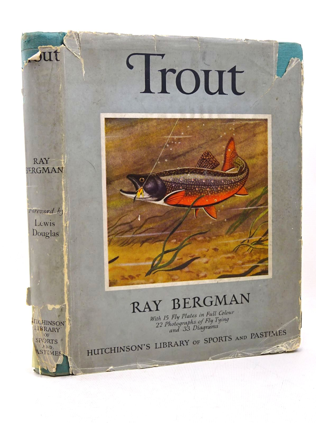 Photo of TROUT written by Bergman, Ray<br />Douglas, Lewis illustrated by Krug, Charles S.<br />Burke, Edgar published by Hutchinson's Library Of Sports And Pastimes (STOCK CODE: 1317595)  for sale by Stella & Rose's Books