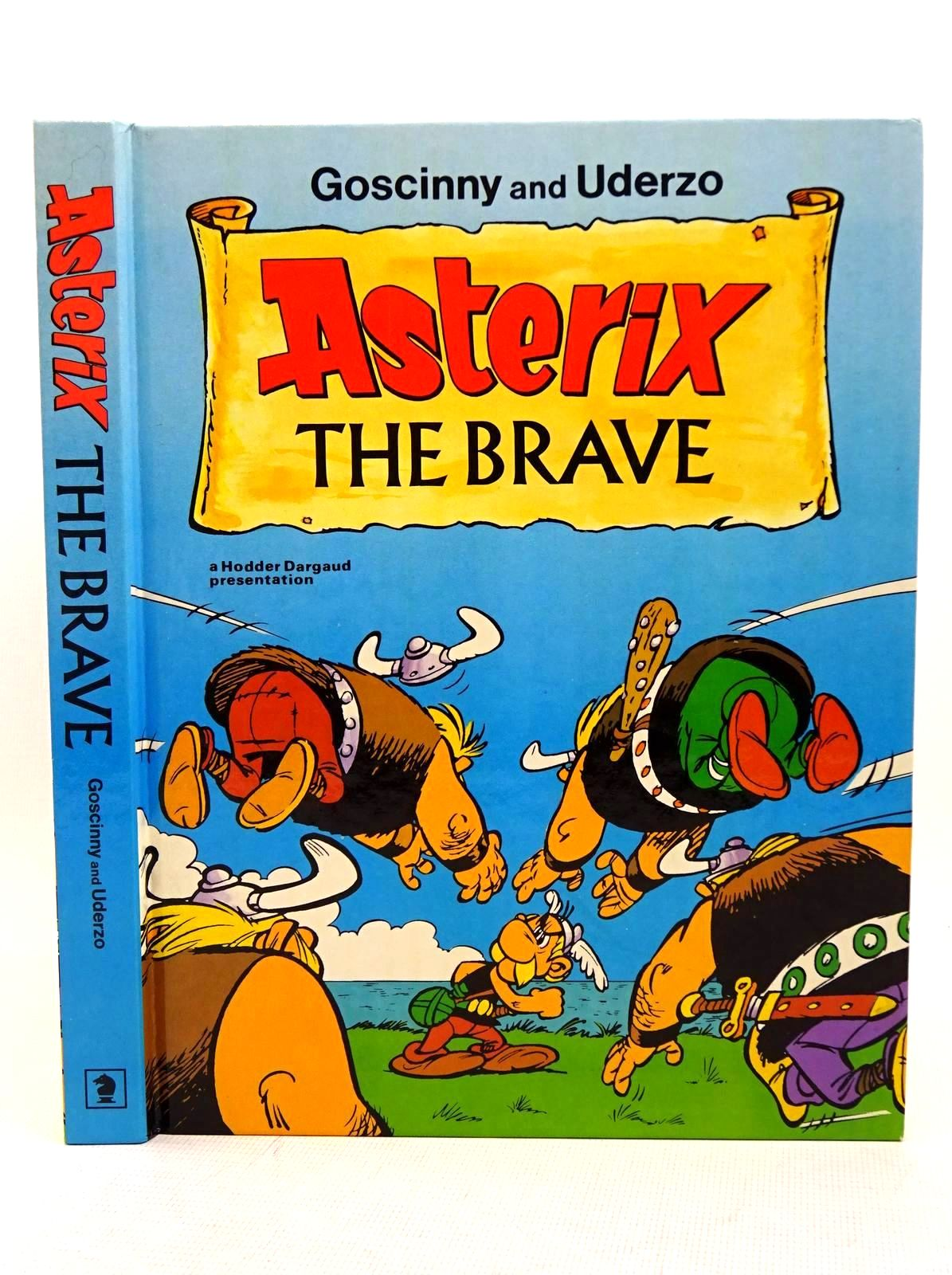 Photo of ASTERIX THE BRAVE written by Goscinny, Rene illustrated by Uderzo, Albert published by Hodder Dargaud (STOCK CODE: 1317600)  for sale by Stella & Rose's Books