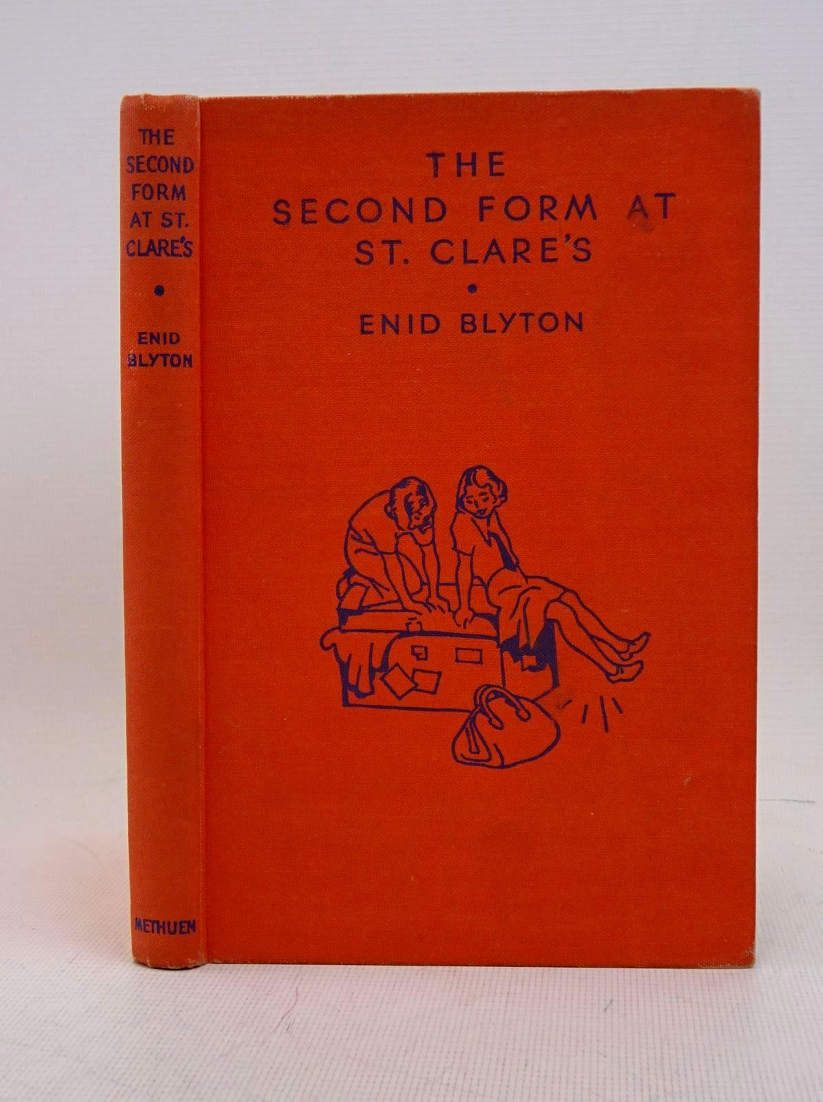Photo of THE SECOND FORM AT ST. CLARE'S written by Blyton, Enid illustrated by Cable, W. Lindsay published by Methuen & Co. Ltd. (STOCK CODE: 1317631)  for sale by Stella & Rose's Books