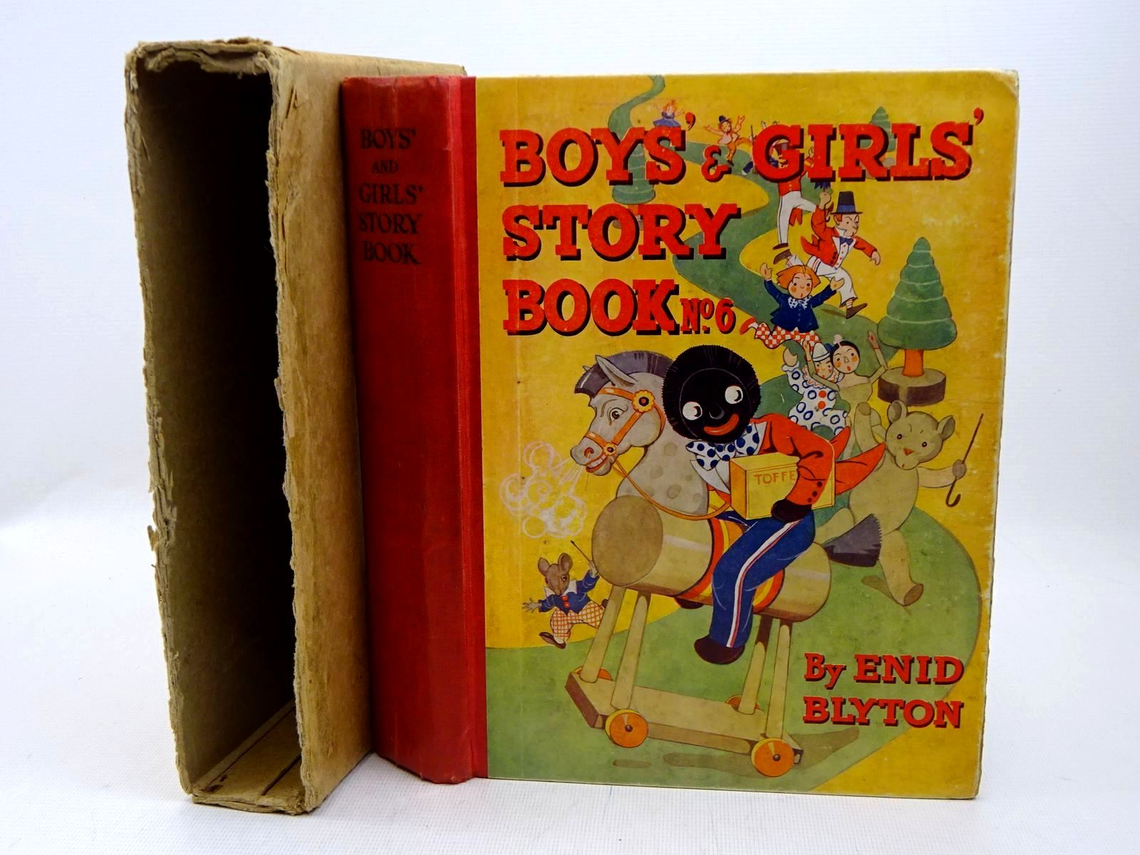 Photo of BOYS' AND GIRLS' STORY BOOK No. 6 written by Blyton, Enid illustrated by Wheeler, Dorothy M.