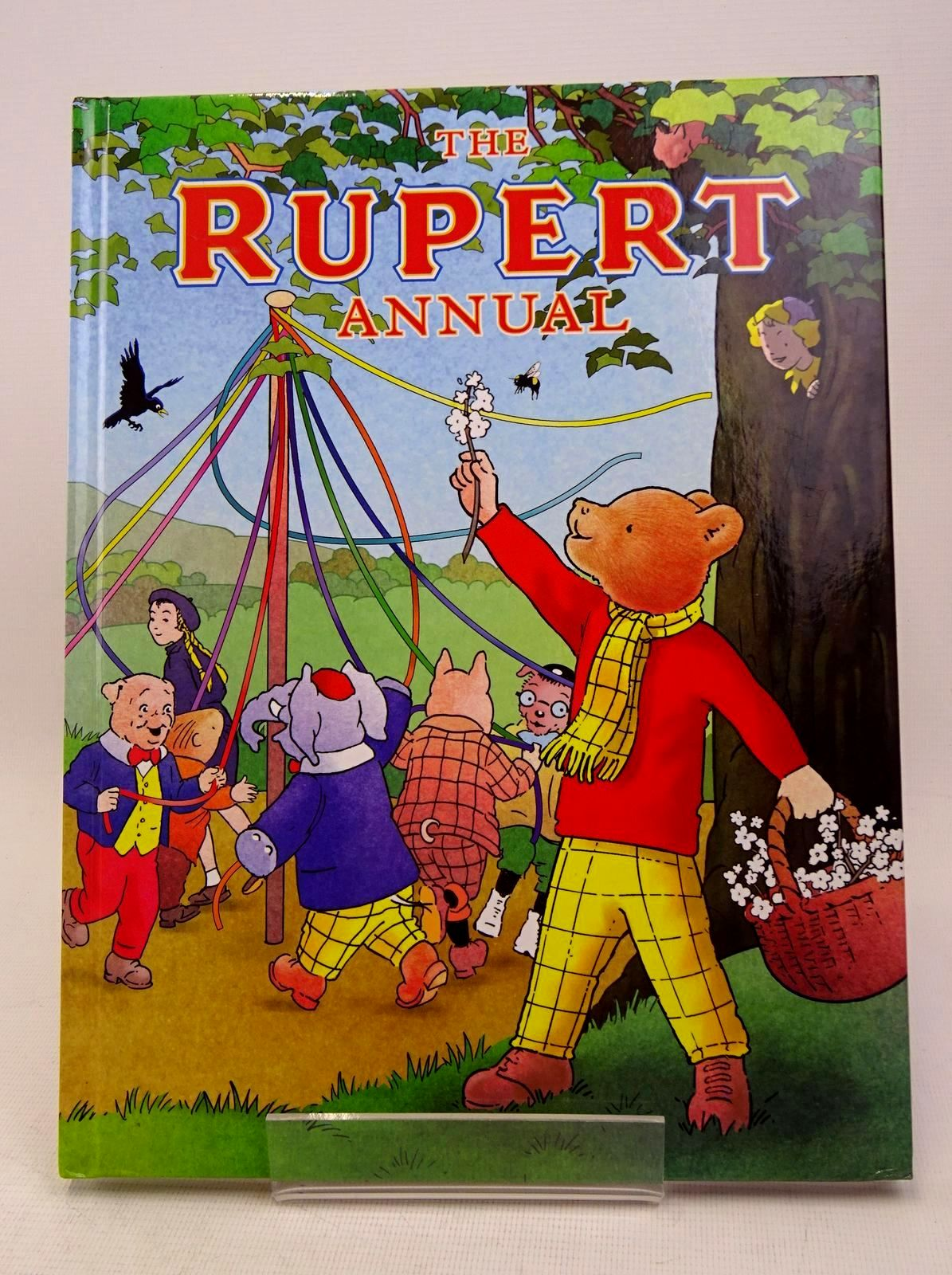 Photo of RUPERT ANNUAL 2018 written by Alperin, Mara illustrated by Trotter, Stuart Bestall, Alfred Harrold, John published by Egmont Uk Limited (STOCK CODE: 1317654)  for sale by Stella & Rose's Books