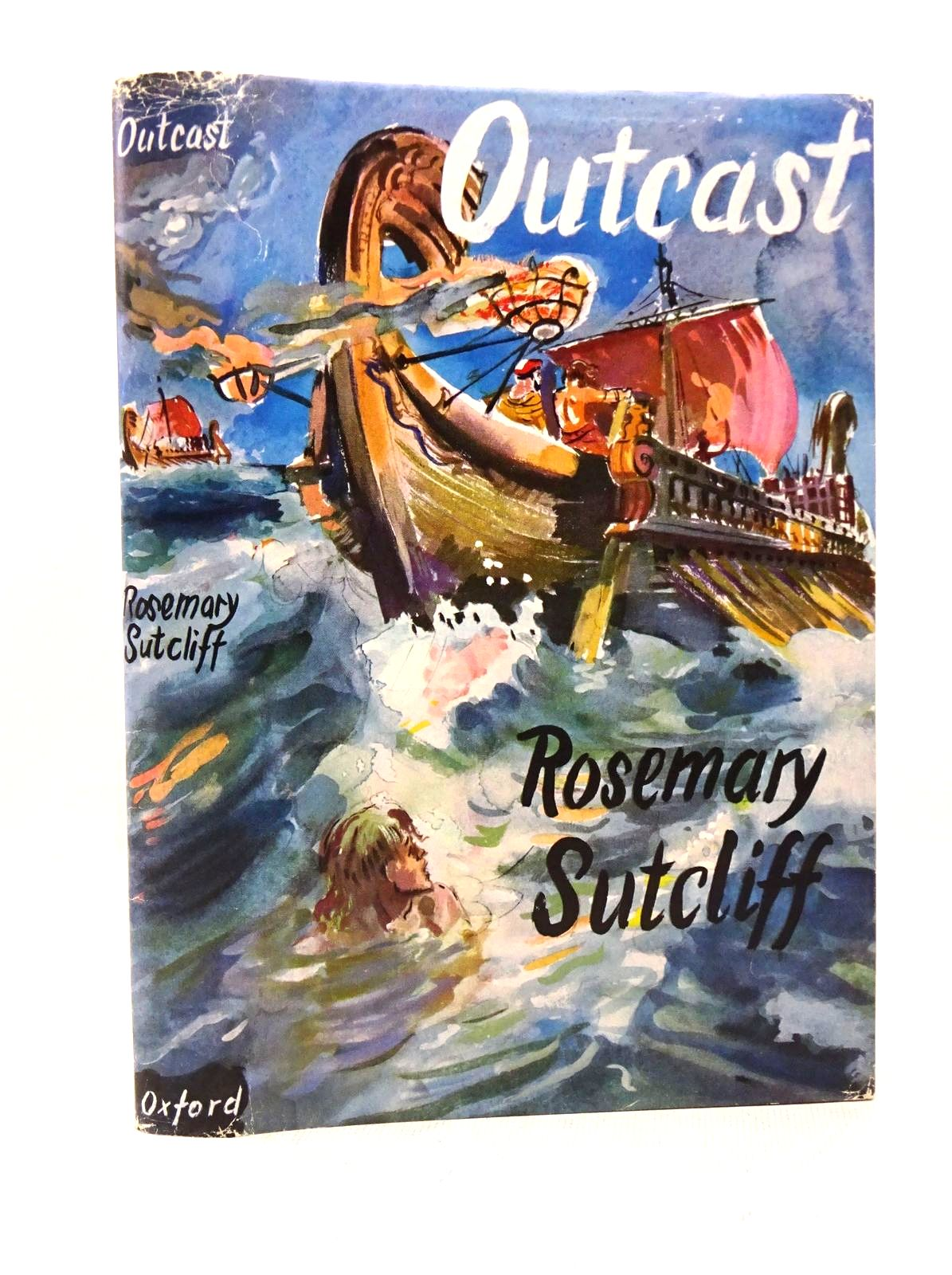 Photo of OUTCAST written by Sutcliff, Rosemary illustrated by Kennedy, Richard published by Oxford University Press (STOCK CODE: 1317673)  for sale by Stella & Rose's Books
