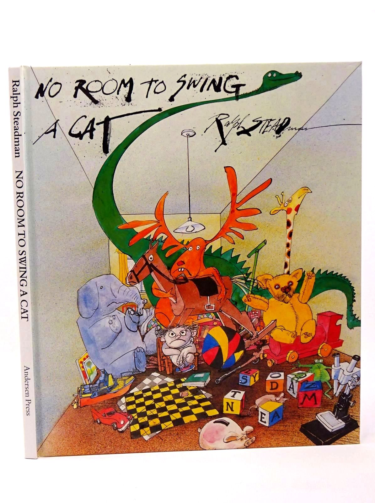 Photo of NO ROOM TO SWING A CAT written by Steadman, Ralph illustrated by Steadman, Ralph published by Andersen Press Ltd. (STOCK CODE: 1317693)  for sale by Stella & Rose's Books