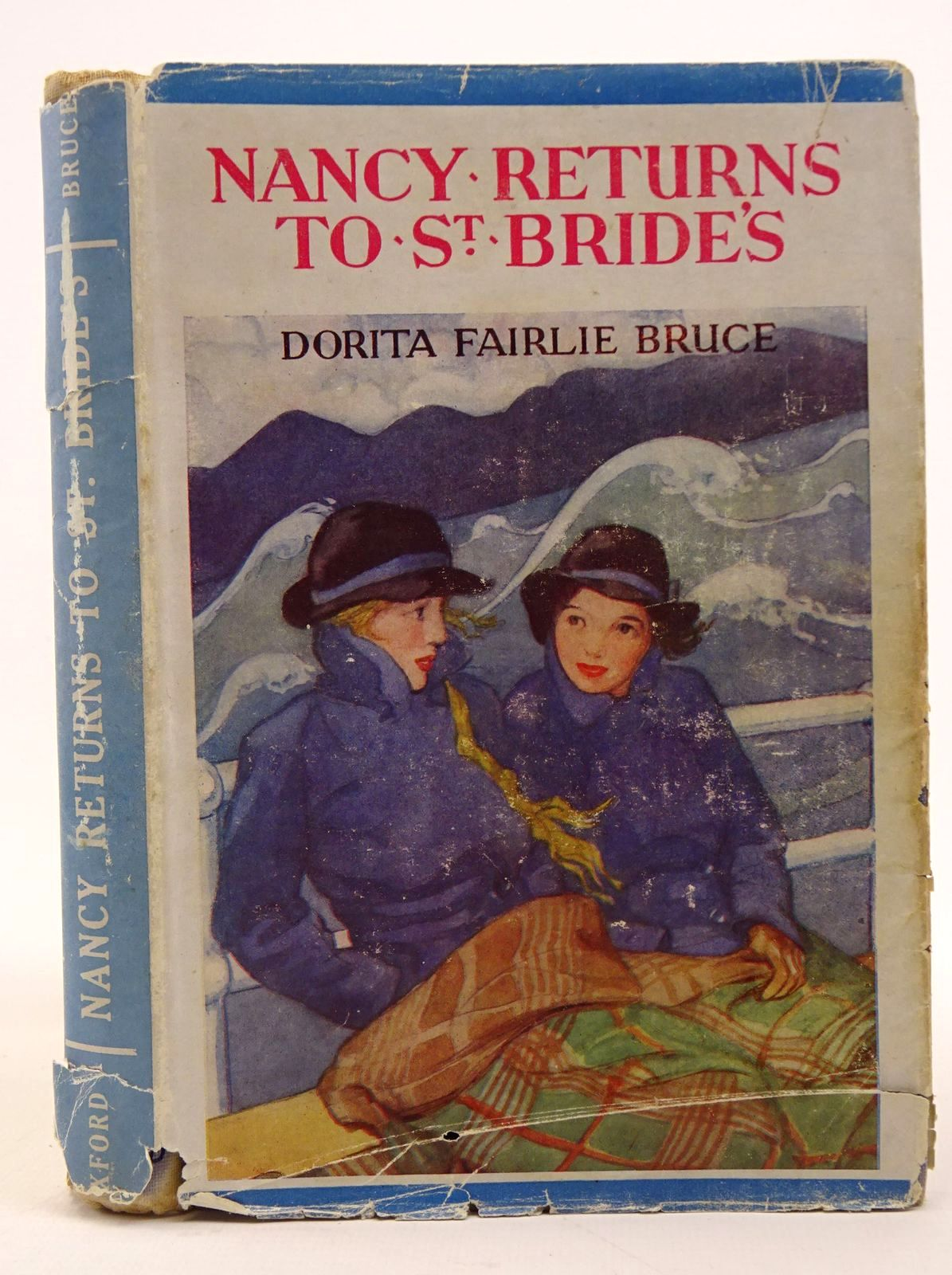 Photo of NANCY RETURNS TO ST. BRIDE'S written by Bruce, Dorita Fairlie illustrated by Johnston, M.D. published by Geoffrey Cumberlege, Oxford University Press (STOCK CODE: 1317709)  for sale by Stella & Rose's Books