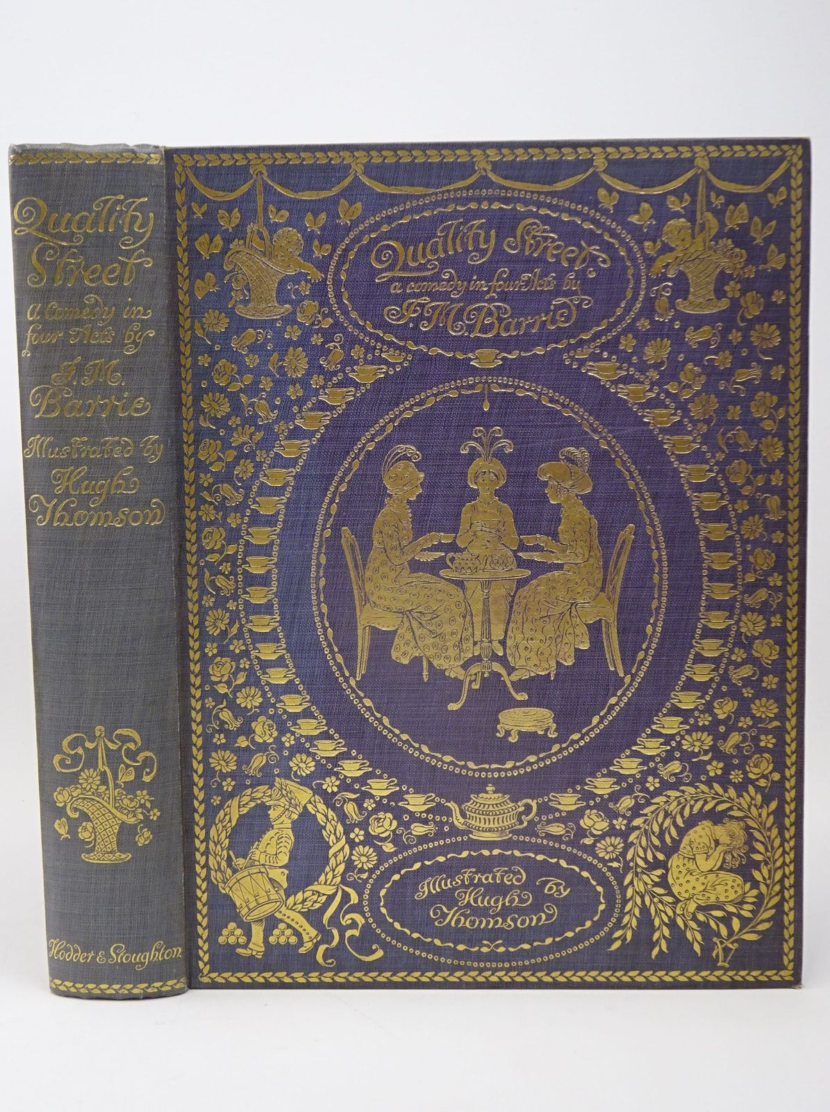 Photo of QUALITY STREET written by Barrie, J.M. illustrated by Thomson, Hugh published by Hodder & Stoughton (STOCK CODE: 1317715)  for sale by Stella & Rose's Books