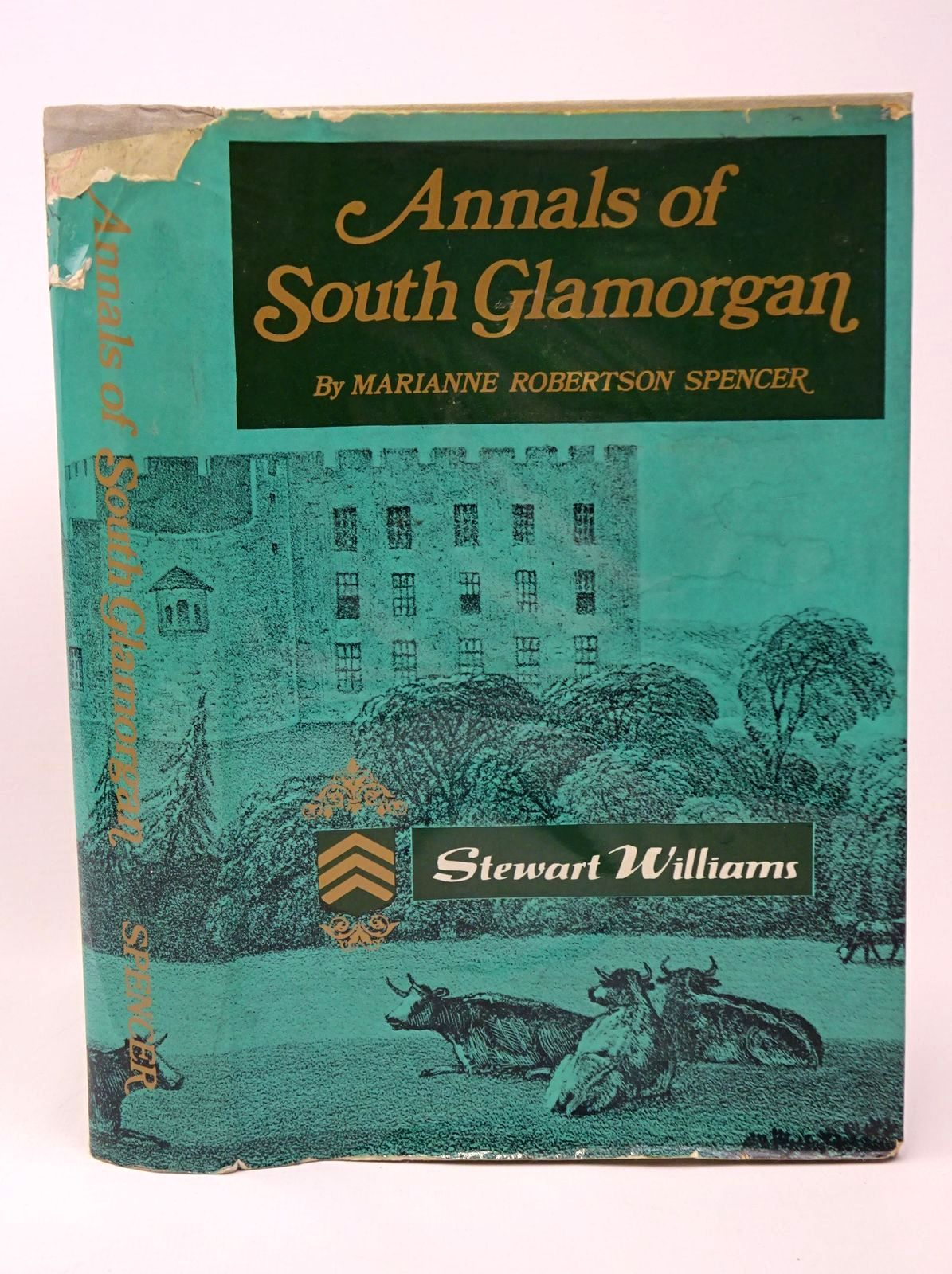 Photo of ANNALS OF SOUTH GLAMORGAN written by Spencer, Marianne Robertson published by Stewart Williams (STOCK CODE: 1317731)  for sale by Stella & Rose's Books