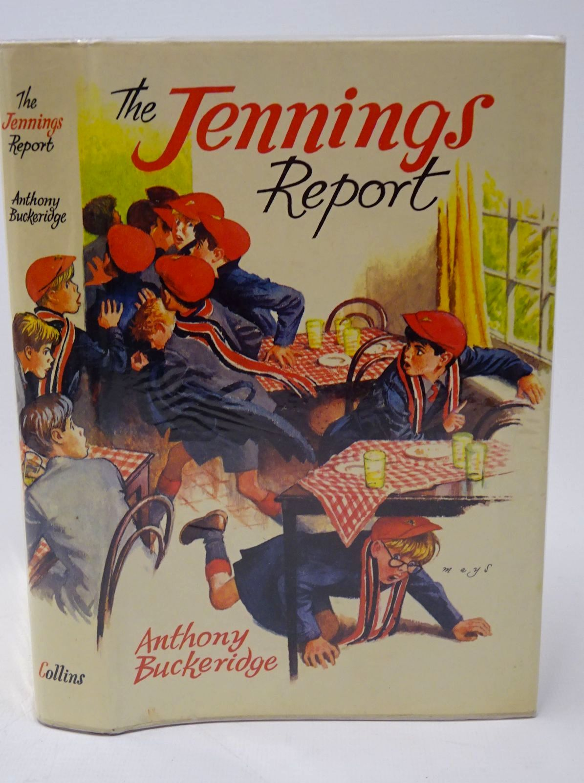 Photo of THE JENNINGS REPORT written by Buckeridge, Anthony illustrated by Mays,  published by Collins (STOCK CODE: 1317755)  for sale by Stella & Rose's Books