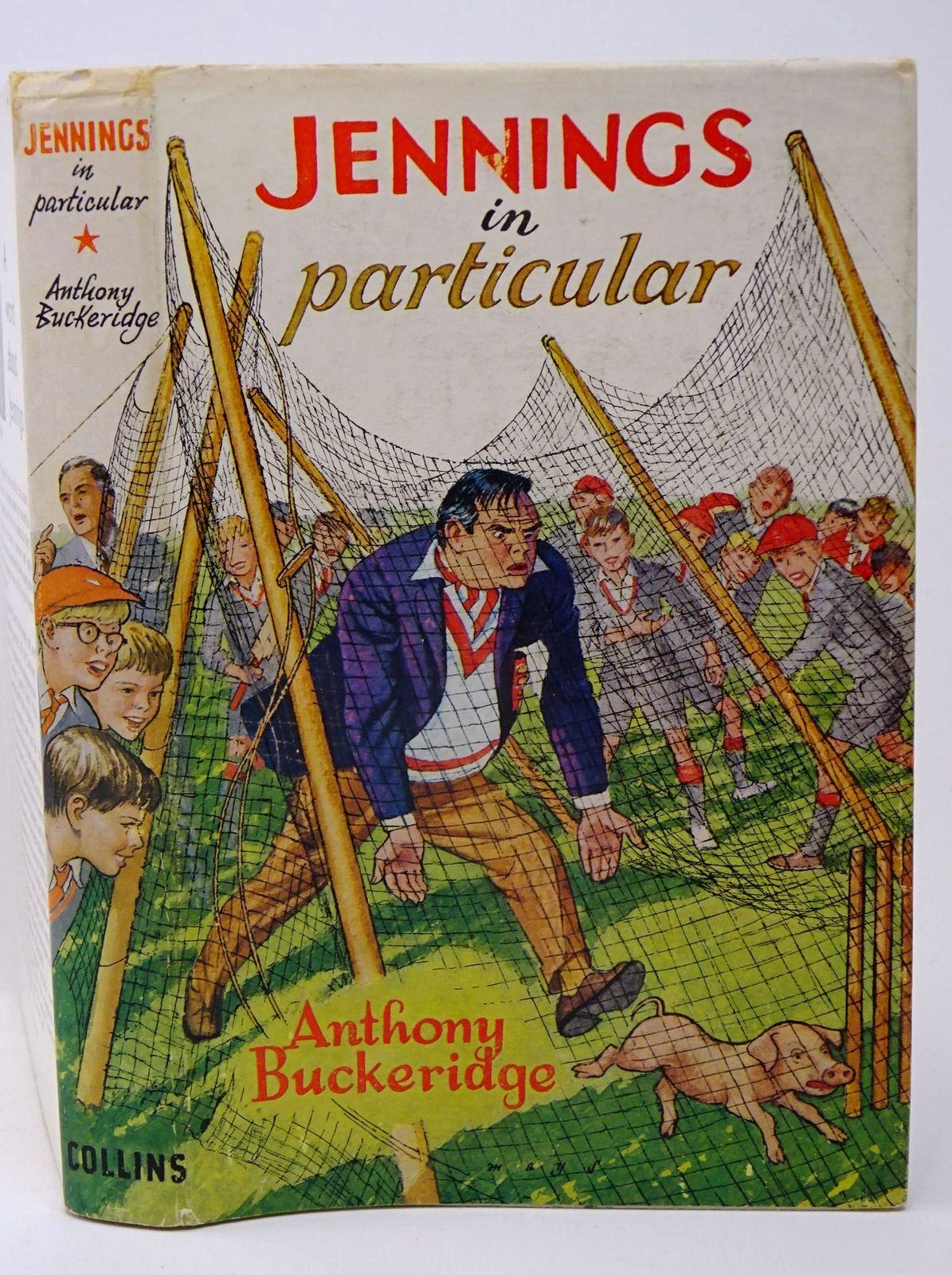 Photo of JENNINGS IN PARTICULAR written by Buckeridge, Anthony illustrated by Mays,  published by Collins (STOCK CODE: 1317760)  for sale by Stella & Rose's Books
