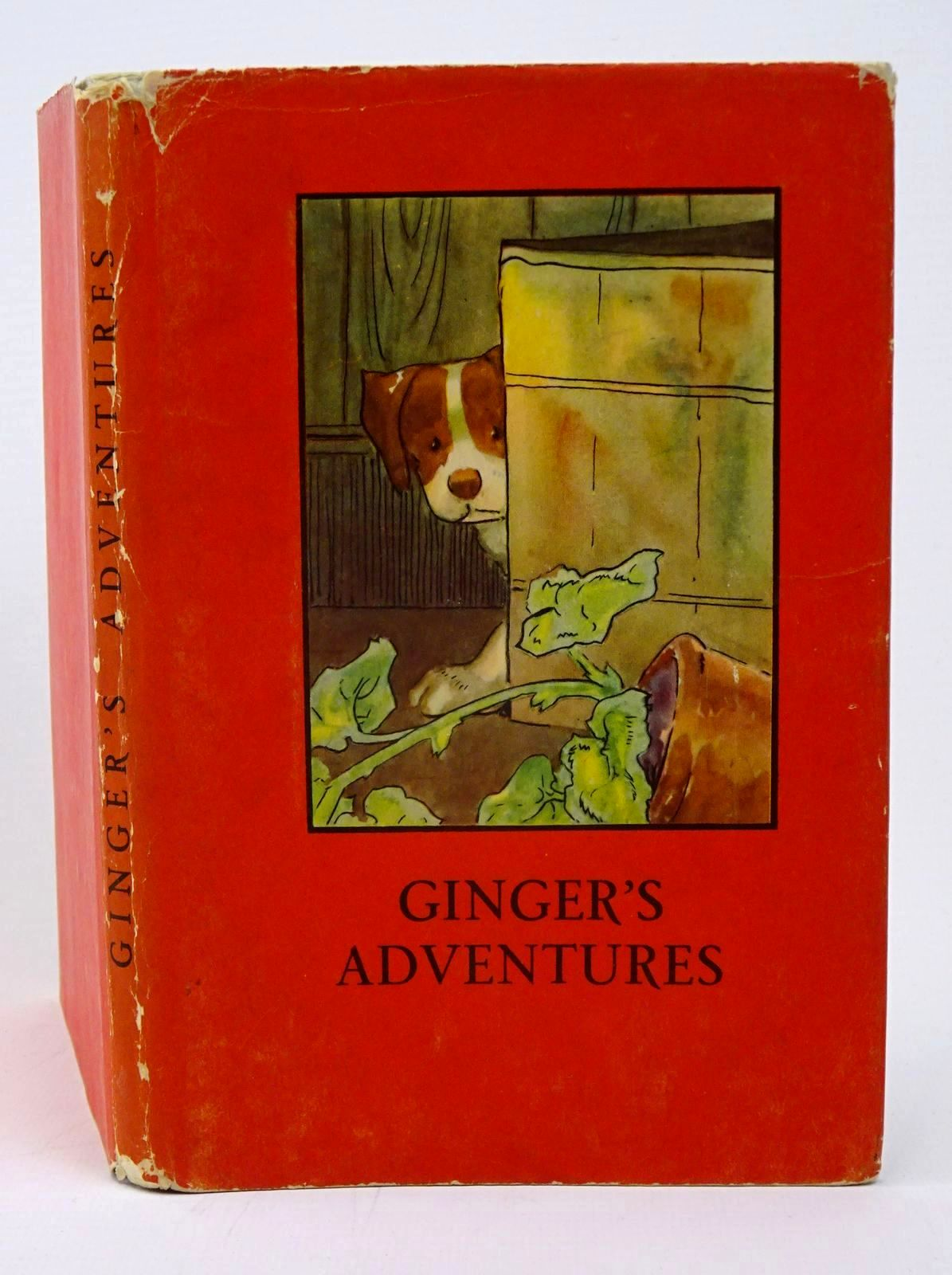 Photo of GINGER'S ADVENTURES written by Macgregor, A.J. Perring, W. illustrated by Macgregor, A.J. published by Wills & Hepworth Ltd. (STOCK CODE: 1317768)  for sale by Stella & Rose's Books
