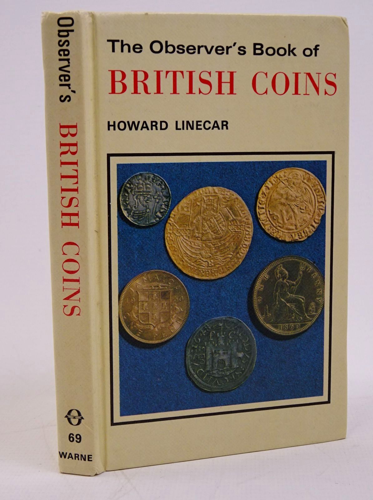 Photo of THE OBSERVER'S BOOK OF BRITISH COINS written by Linecar, Howard W.A. published by Frederick Warne (STOCK CODE: 1317775)  for sale by Stella & Rose's Books