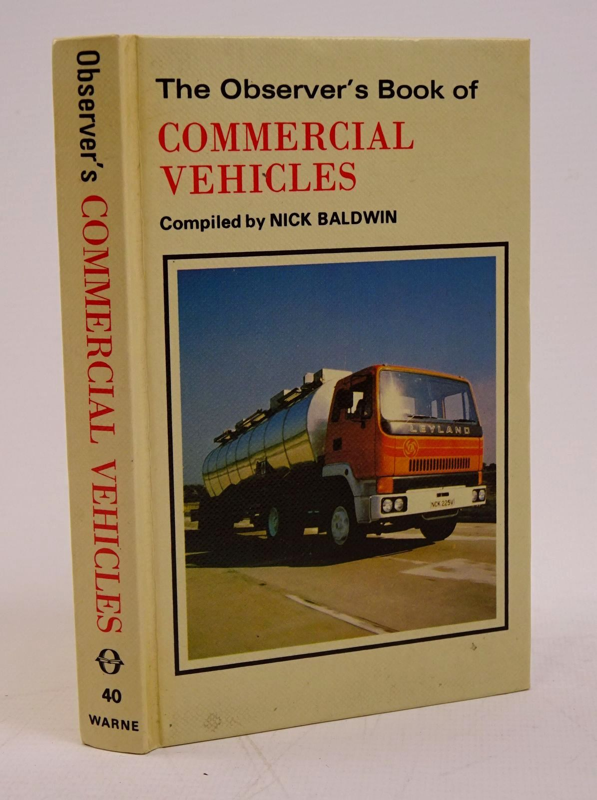 Photo of THE OBSERVER'S BOOK OF COMMERCIAL VEHICLES- Stock Number: 1317778