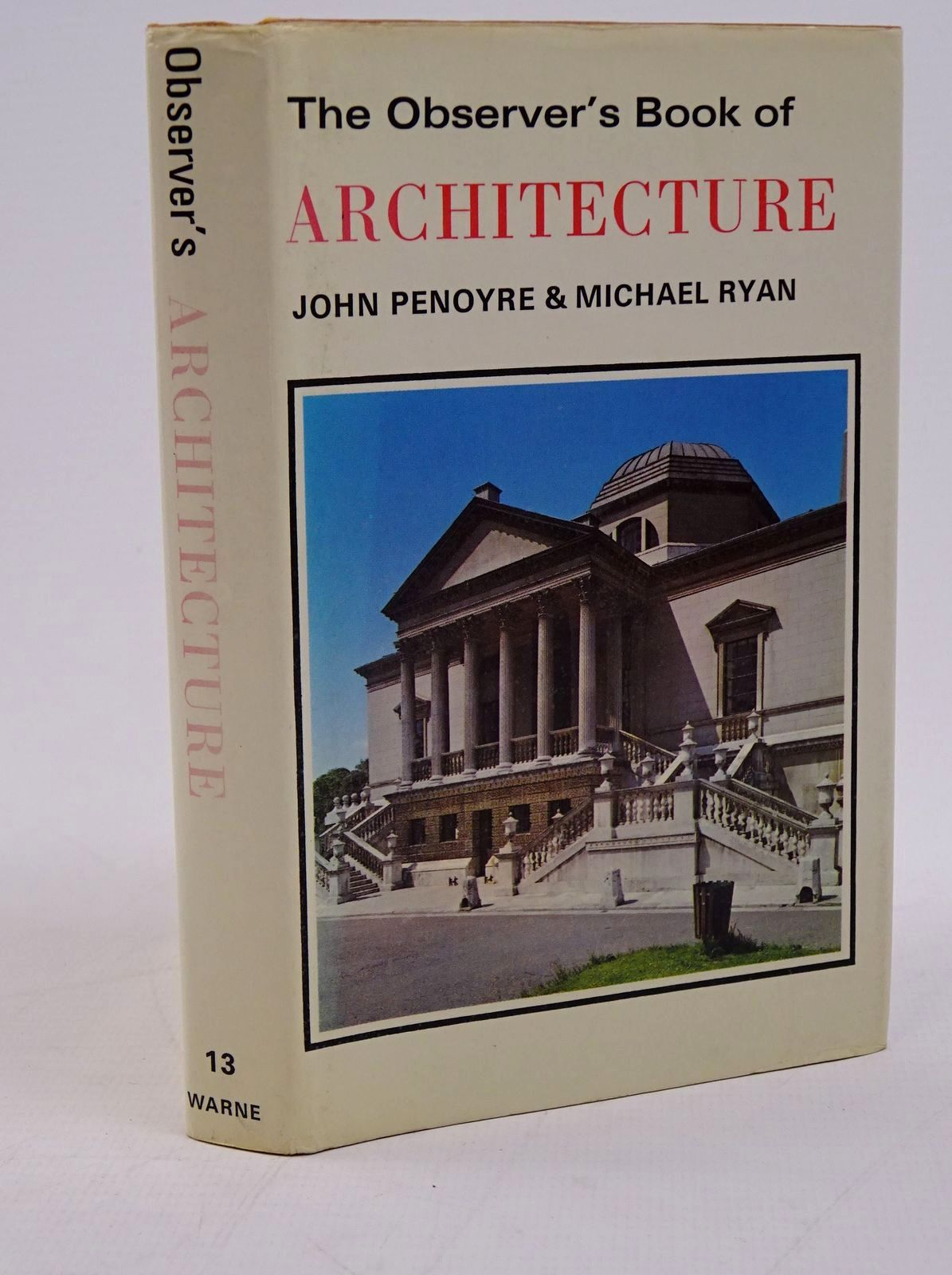 Photo of THE OBSERVER'S BOOK OF ARCHITECTURE- Stock Number: 1317780