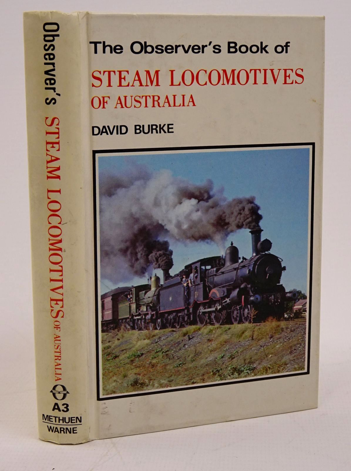 Photo of THE OBSERVER'S BOOK OF STEAM LOCOMOTIVES OF AUSTRALIA- Stock Number: 1317782