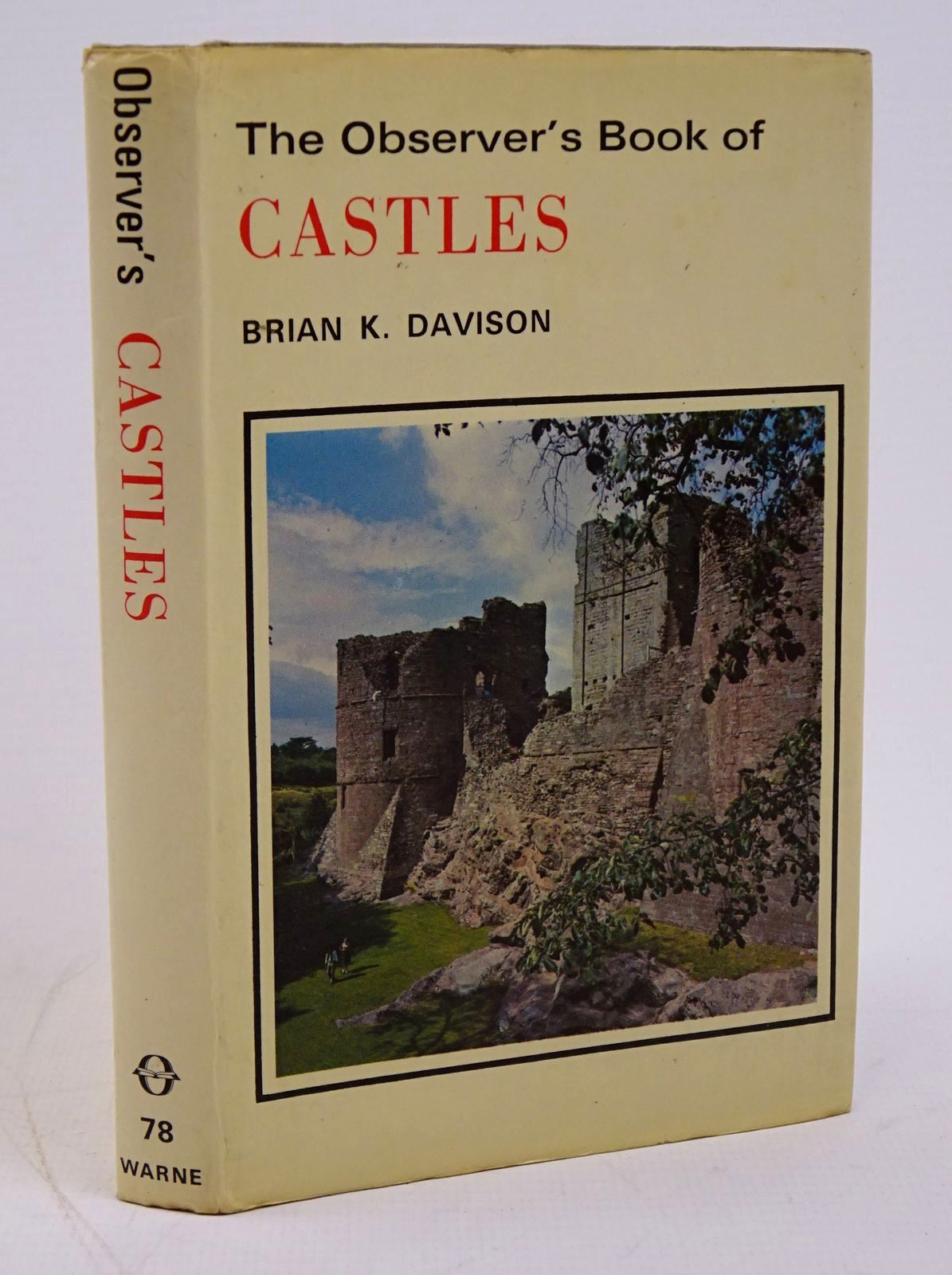 Photo of THE OBSERVER'S BOOK OF CASTLES- Stock Number: 1317786