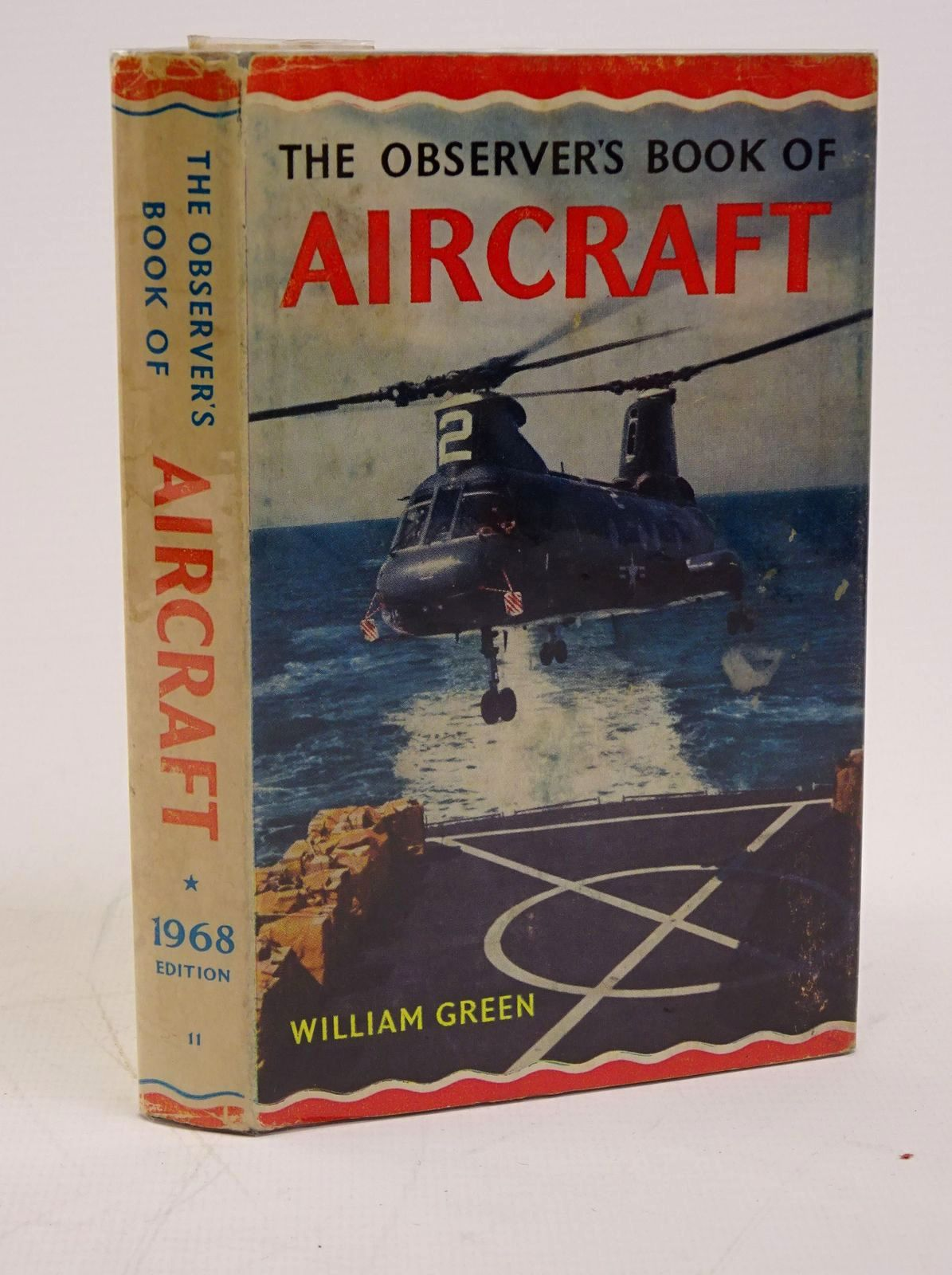 Photo of THE OBSERVER'S BOOK OF AIRCRAFT written by Green, William illustrated by Punnett, Dennis published by Frederick Warne (STOCK CODE: 1317792)  for sale by Stella & Rose's Books