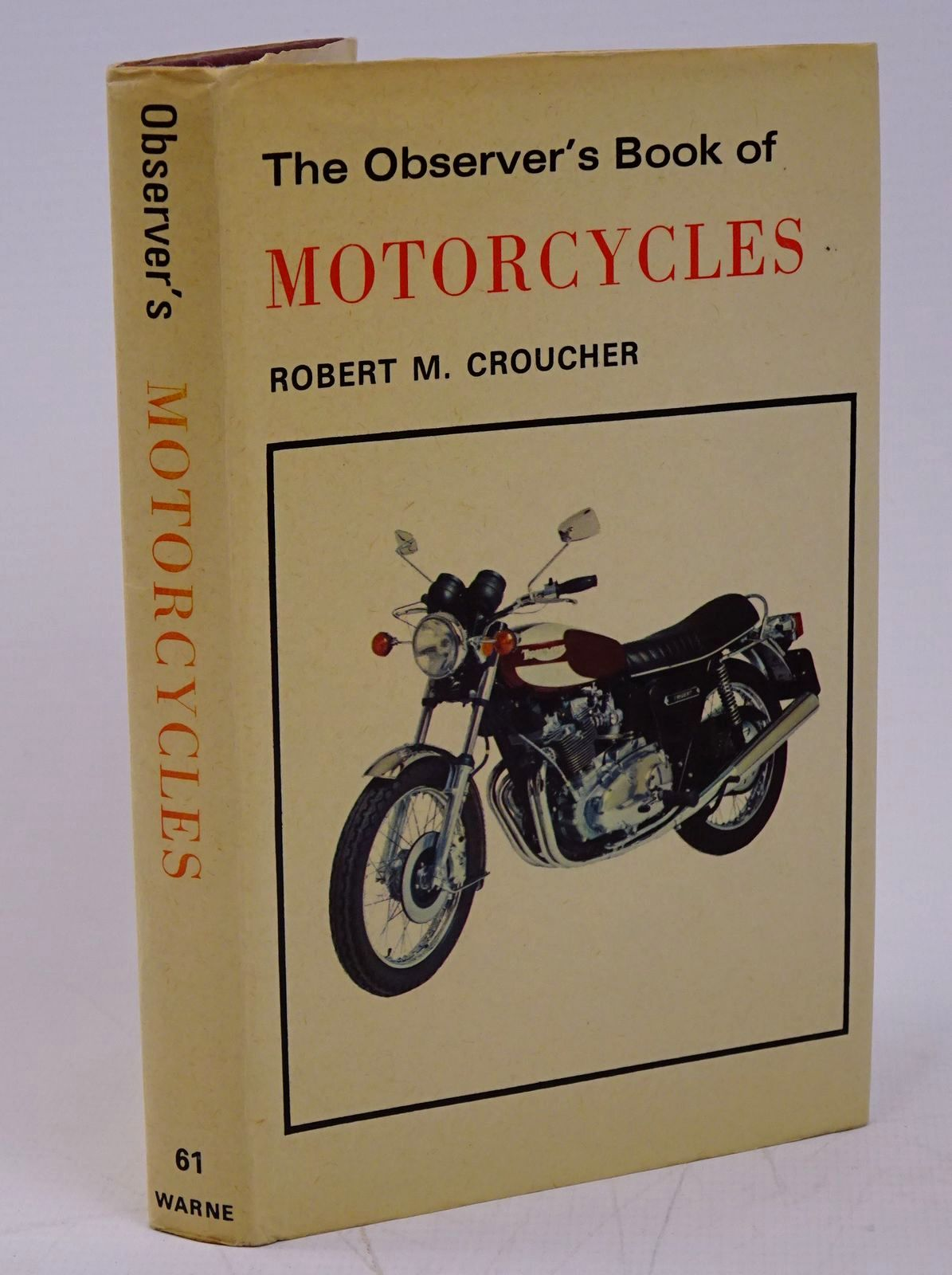 Photo of THE OBSERVER'S BOOK OF MOTORCYCLES- Stock Number: 1317805