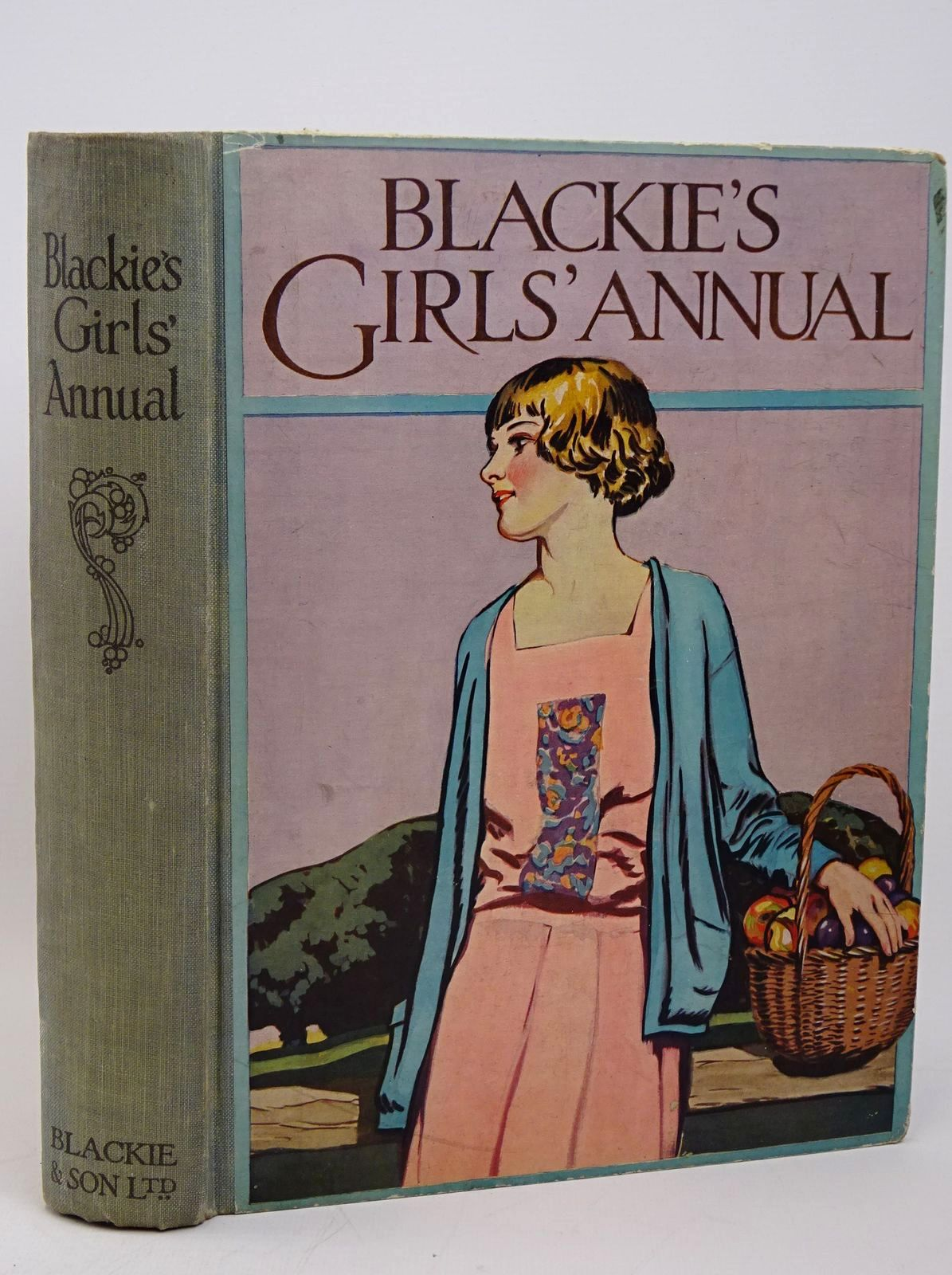 Photo of BLACKIE'S GIRLS' ANNUAL written by Harrison, Florence Westwood, J.D. Brazil, Angela et al,  illustrated by Harrison, Florence Reynolds, Warwick et al.,  published by Blackie & Son Ltd. (STOCK CODE: 1317811)  for sale by Stella & Rose's Books