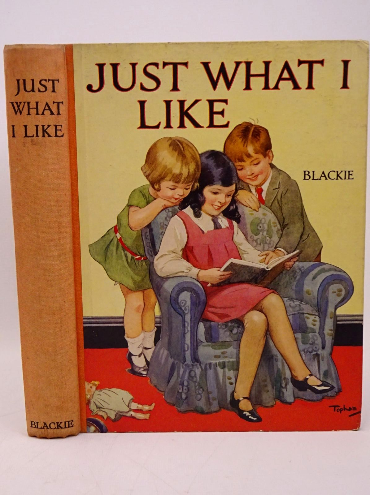 Photo of JUST WHAT I LIKE written by King, K.E. Haverfield, A.R.T. Hunter, Norman Barnes, Madeline et al,  illustrated by Rees, E. Dorothy Reynolds, Warwick Robinson, Gordon Anderson, Florence Mary Cobb, Ruth et al.,  published by Blackie & Son Ltd. (STOCK CODE: 1317823)  for sale by Stella & Rose's Books