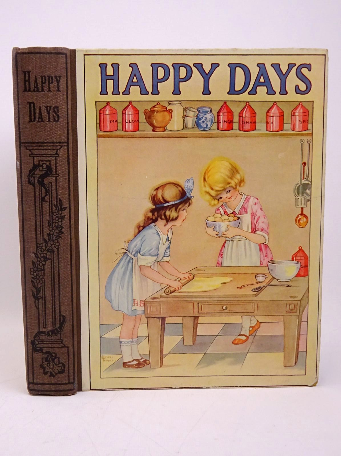 Photo of HAPPY DAYS written by Mackintosh, Mabel illustrated by Harrow, K. et al.,  published by John F. Shaw & Co Ltd. (STOCK CODE: 1317826)  for sale by Stella & Rose's Books