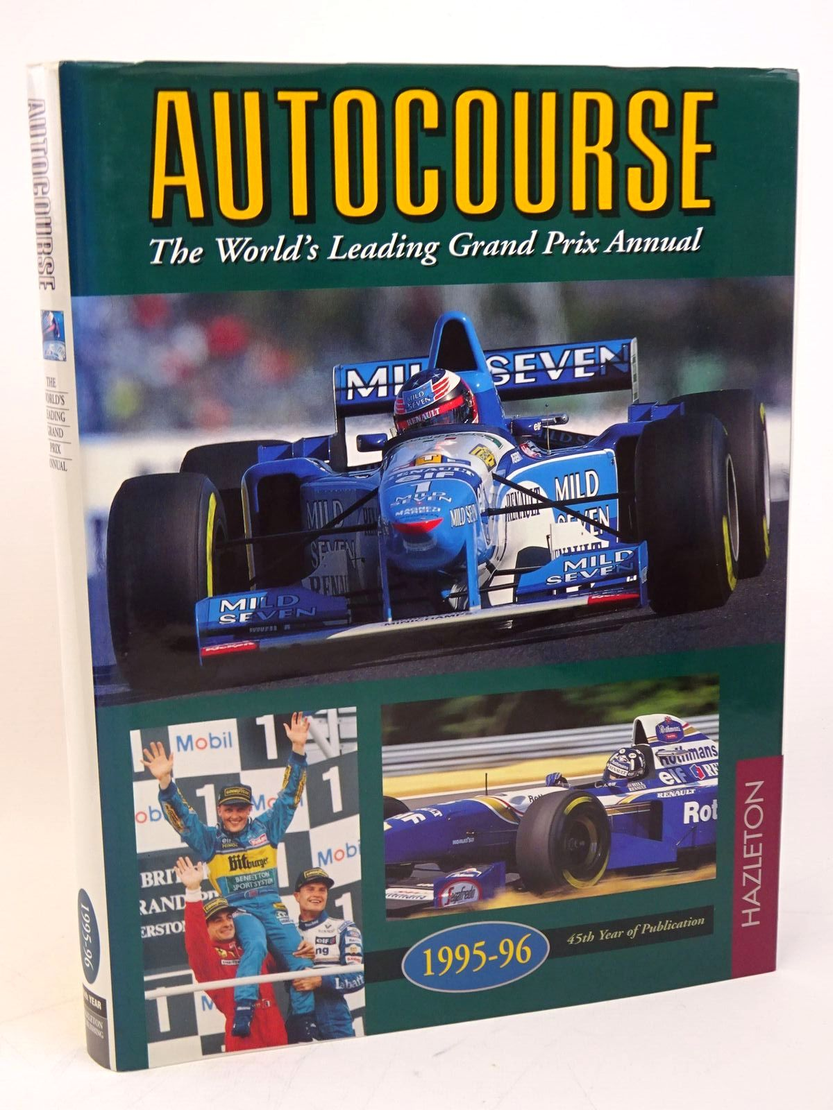 Photo of AUTOCOURSE 1995-1996 published by Hazleton Publishing (STOCK CODE: 1317829)  for sale by Stella & Rose's Books