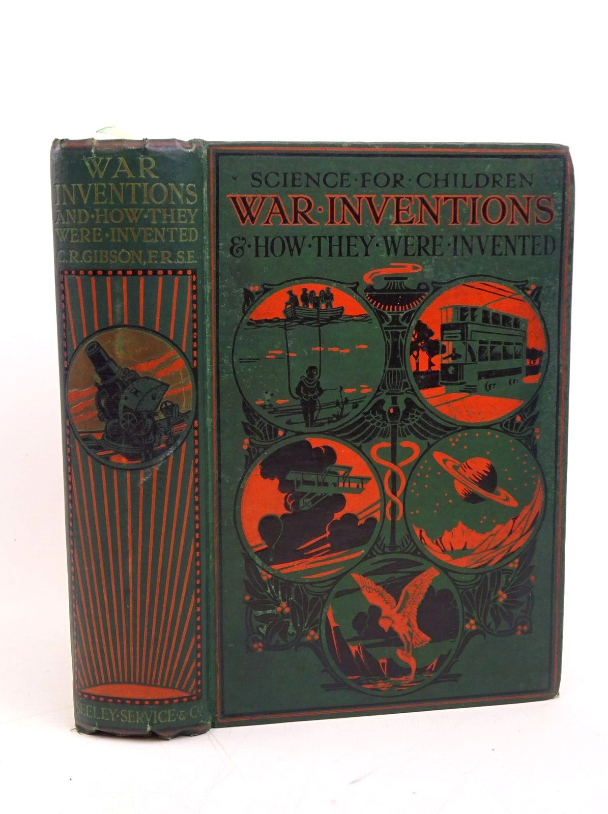 Photo of WAR INVENTIONS AND HOW THEY WERE INVENTED written by Gibson, Charles R. published by Seeley, Service & Co. Ltd. (STOCK CODE: 1317852)  for sale by Stella & Rose's Books