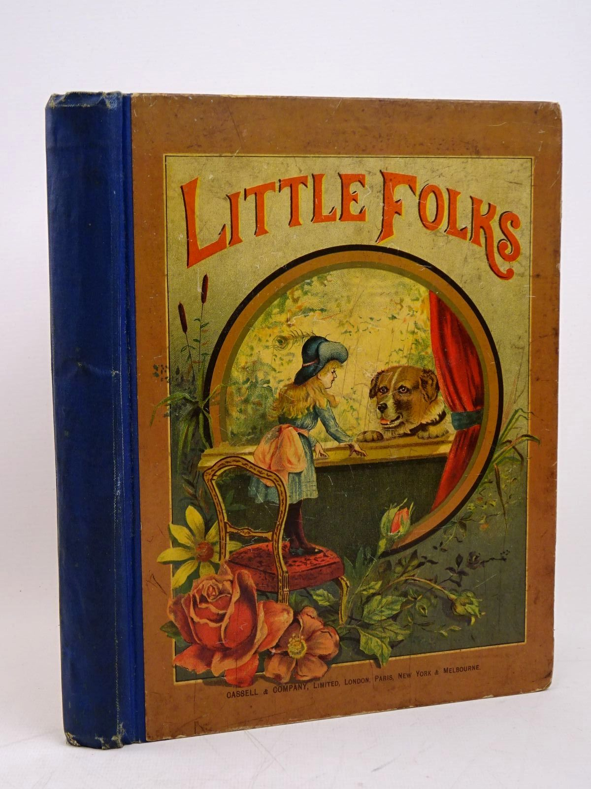 Photo of LITTLE FOLKS VOL 26 written by Molesworth, Mrs.