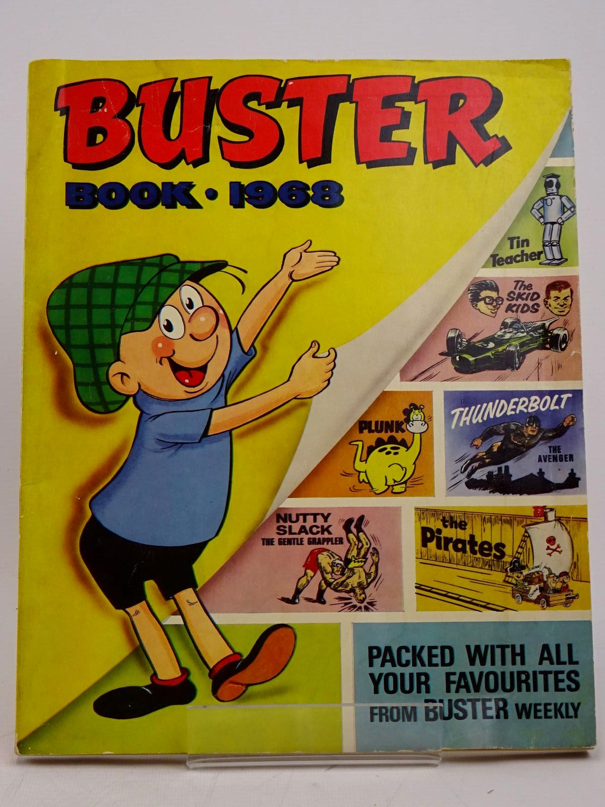 Photo of BUSTER BOOK 1968 published by Fleetway Publications Ltd. (STOCK CODE: 1317864)  for sale by Stella & Rose's Books