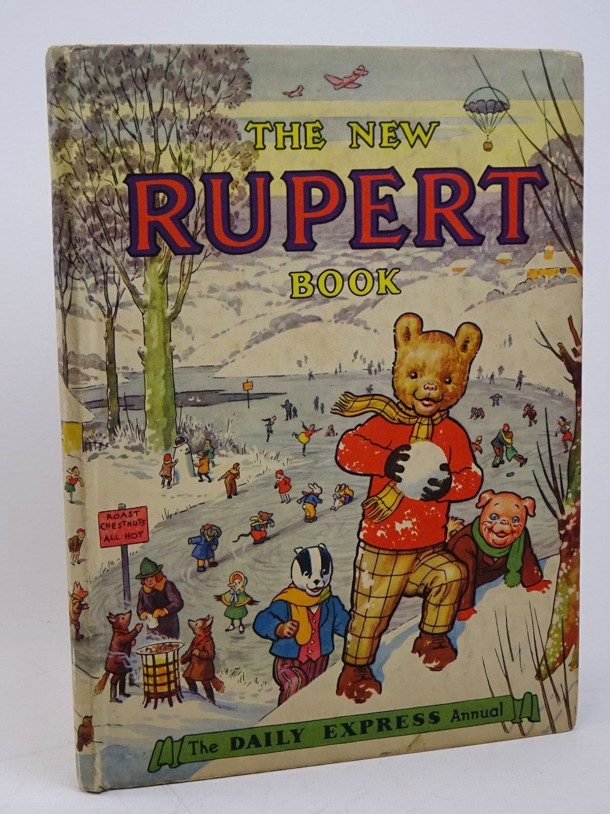 Photo of RUPERT ANNUAL 1951 - THE NEW RUPERT BOOK- Stock Number: 1317865