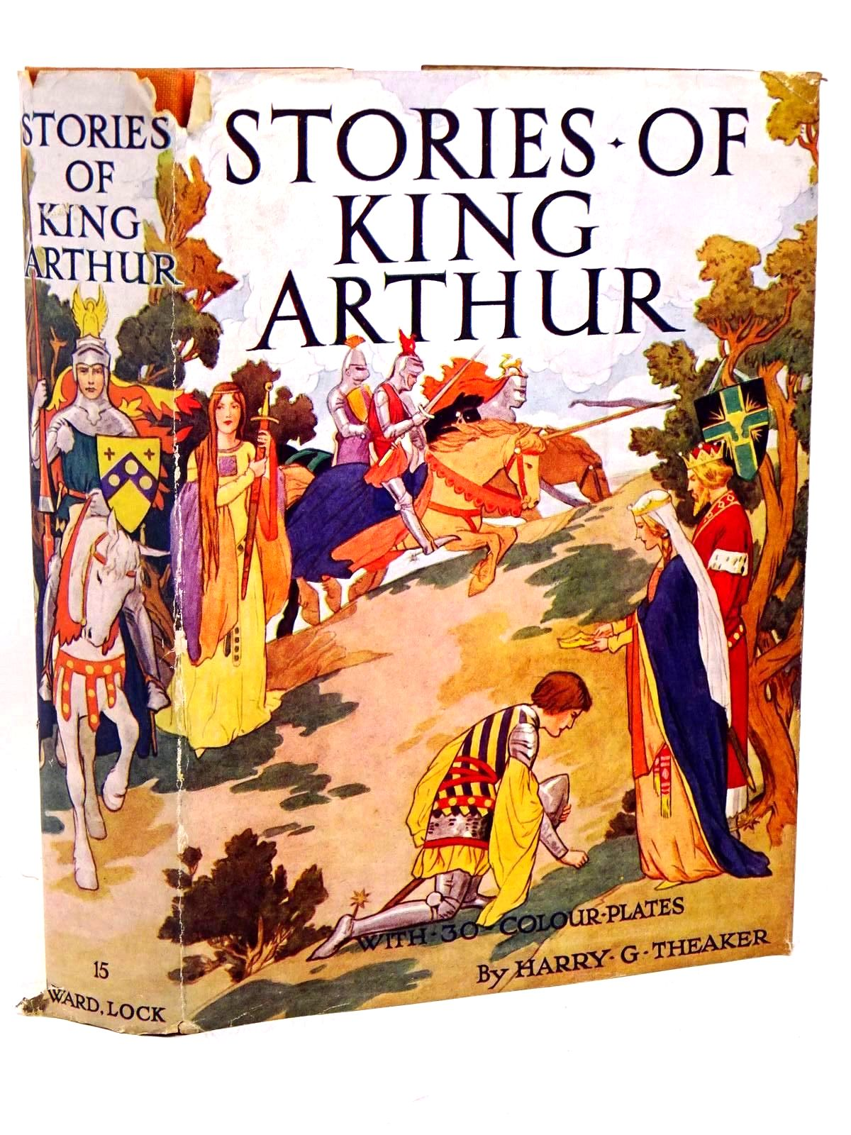 Photo of STORIES OF KING ARTHUR written by Winder, Blanche illustrated by Theaker, Harry published by Ward Lock & Co Ltd. (STOCK CODE: 1317893)  for sale by Stella & Rose's Books