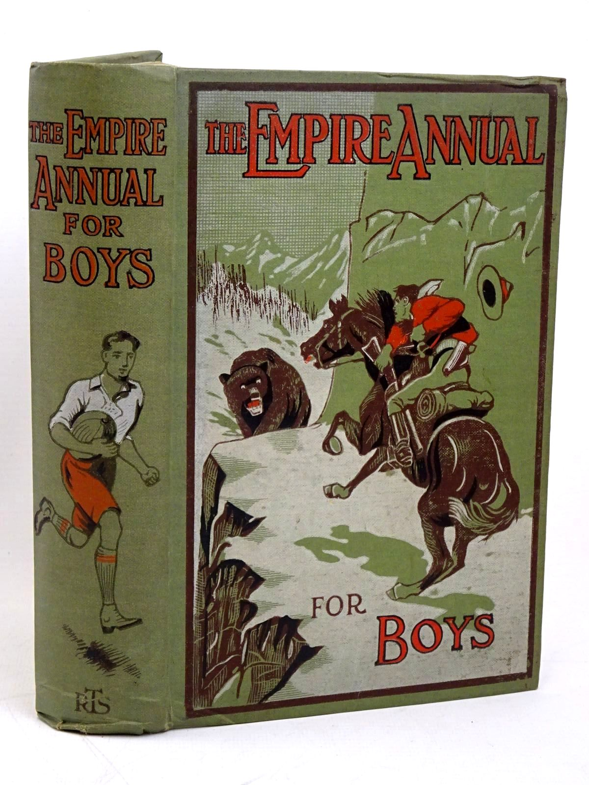 Photo of THE EMPIRE ANNUAL FOR BOYS written by Buckland, A.R. Haydon, A.L. Moore, Henry C. et al, published by The Religious Tract Society (STOCK CODE: 1317900)  for sale by Stella & Rose's Books