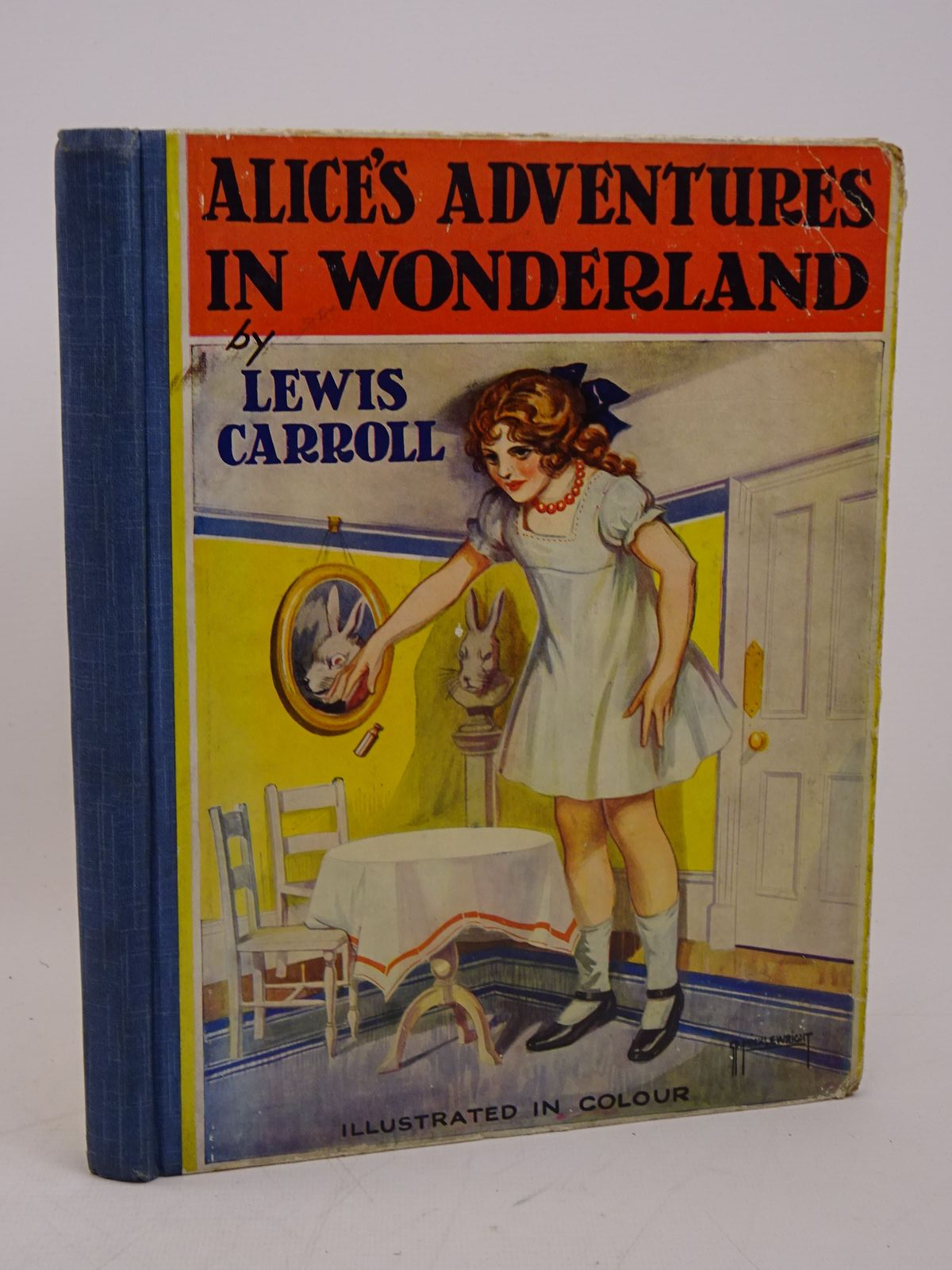 Photo of ALICE'S ADVENTURES IN WONDERLAND written by Carroll, Lewis illustrated by Pease, Bessie published by J. Coker & Co. Ltd. (STOCK CODE: 1317909)  for sale by Stella & Rose's Books