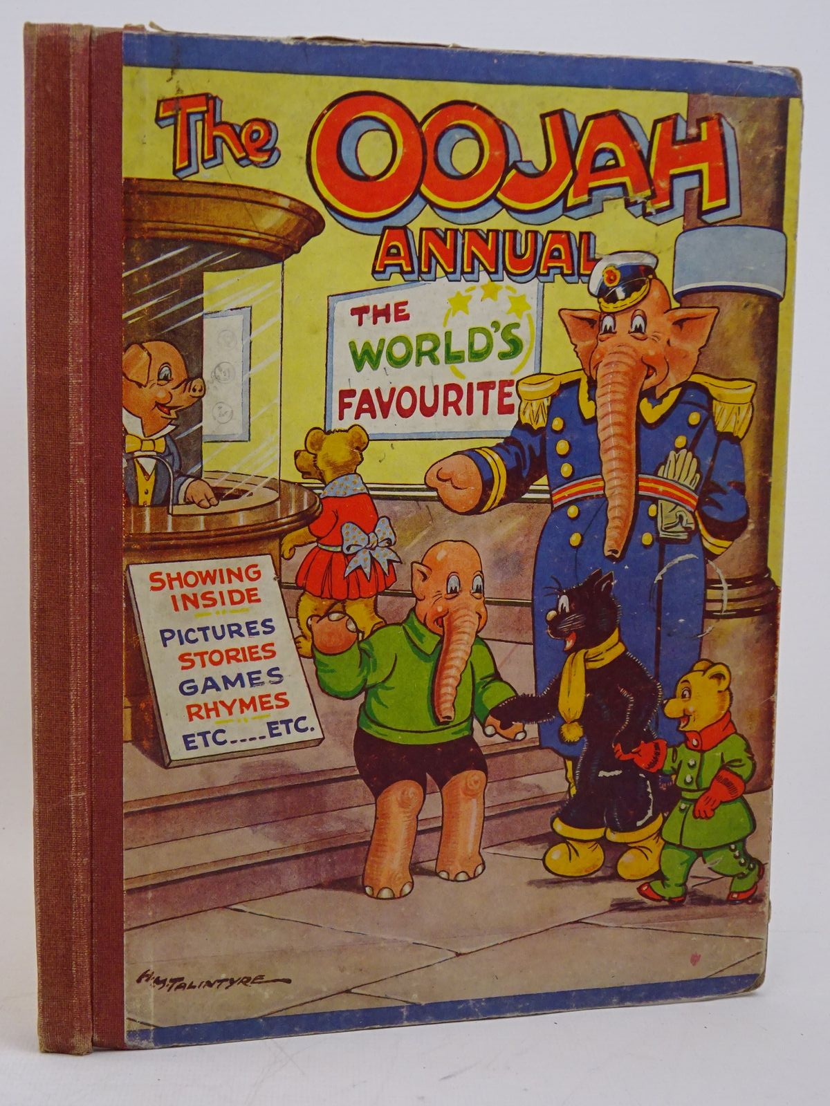 Photo of THE OOJAH ANNUAL written by Lancaster, Flo. illustrated by Talintyre, H.M. published by Peter Pitkin (STOCK CODE: 1317910)  for sale by Stella & Rose's Books