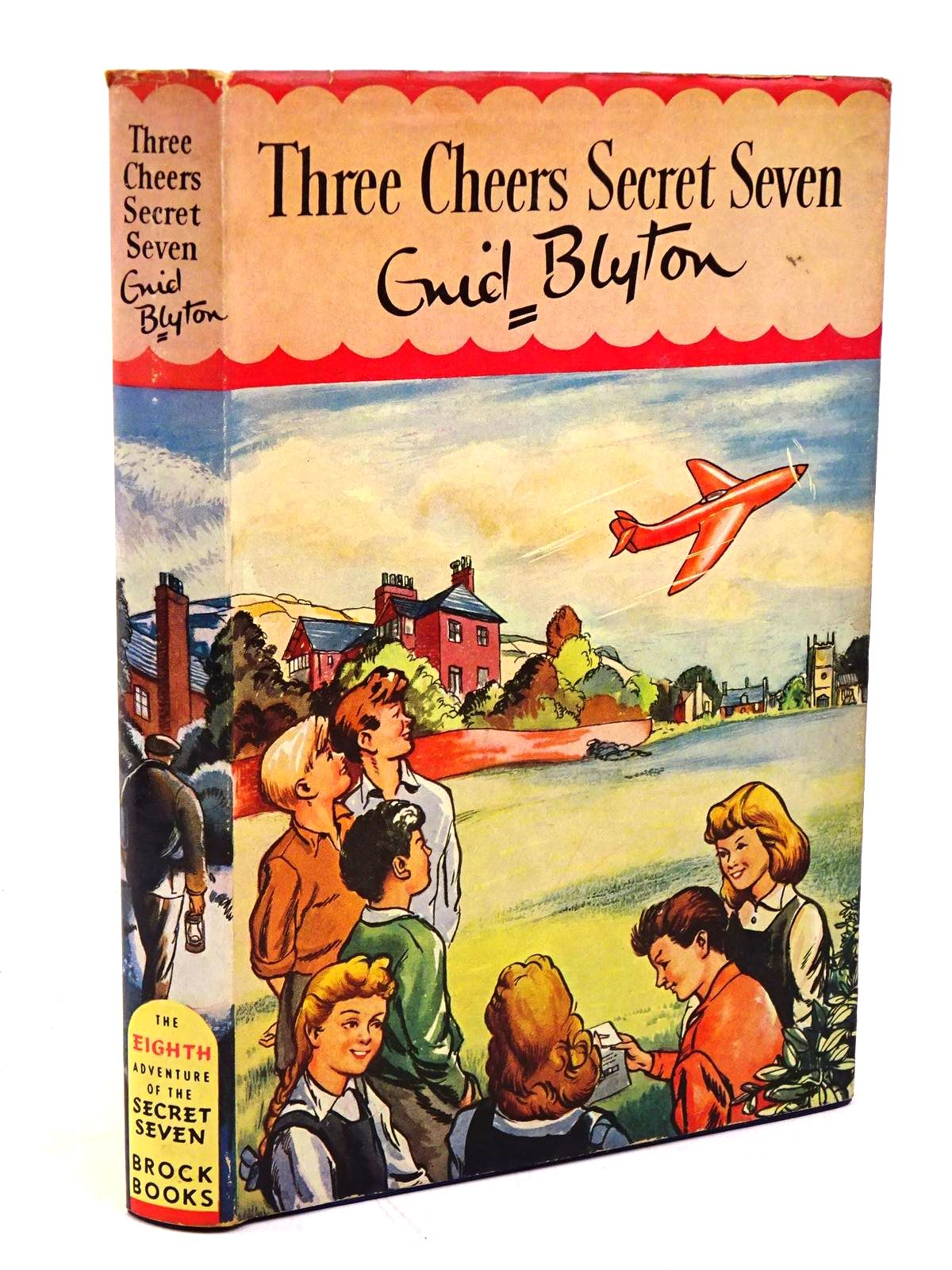 Photo of THREE CHEERS SECRET SEVEN written by Blyton, Enid illustrated by Sharrocks, Burgess published by Brockhampton Press Ltd. (STOCK CODE: 1317941)  for sale by Stella & Rose's Books