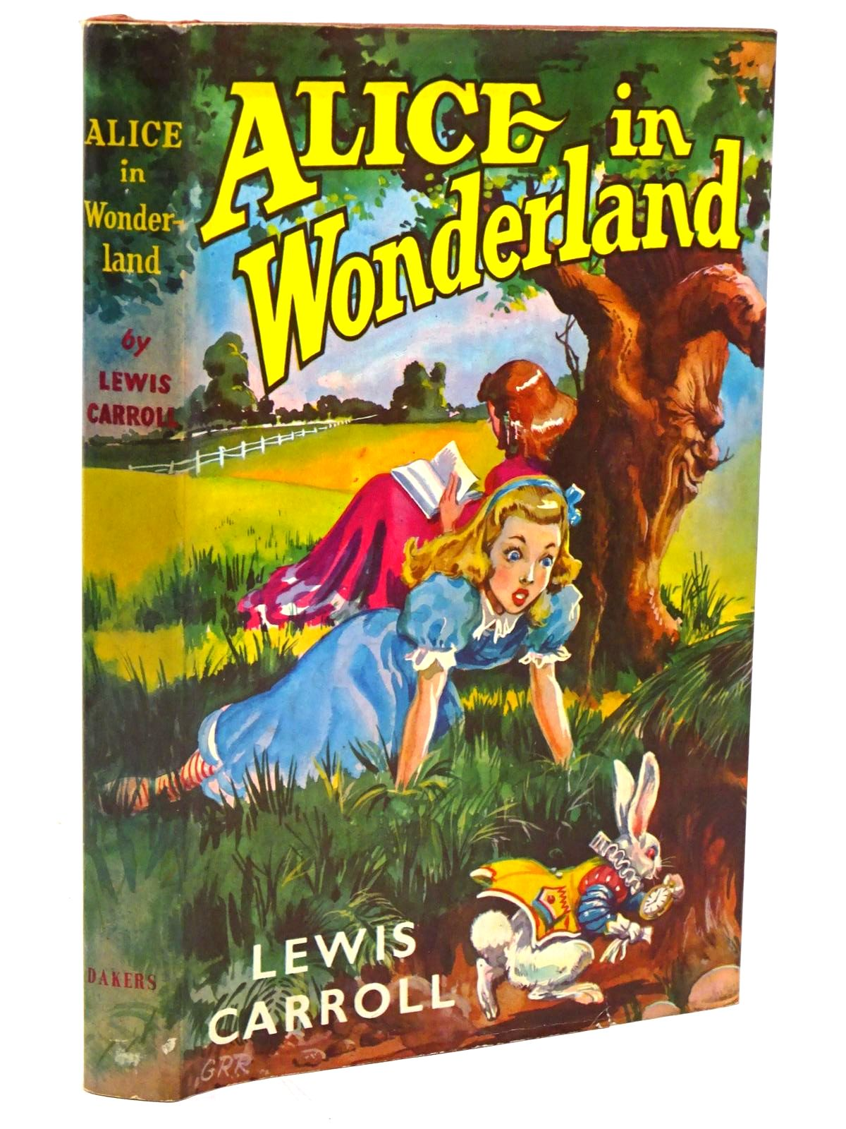 Photo of ALICE'S ADVENTURES IN WONDERLAND written by Carroll, Lewis published by Andrew Dakers Limited (STOCK CODE: 1317951)  for sale by Stella & Rose's Books