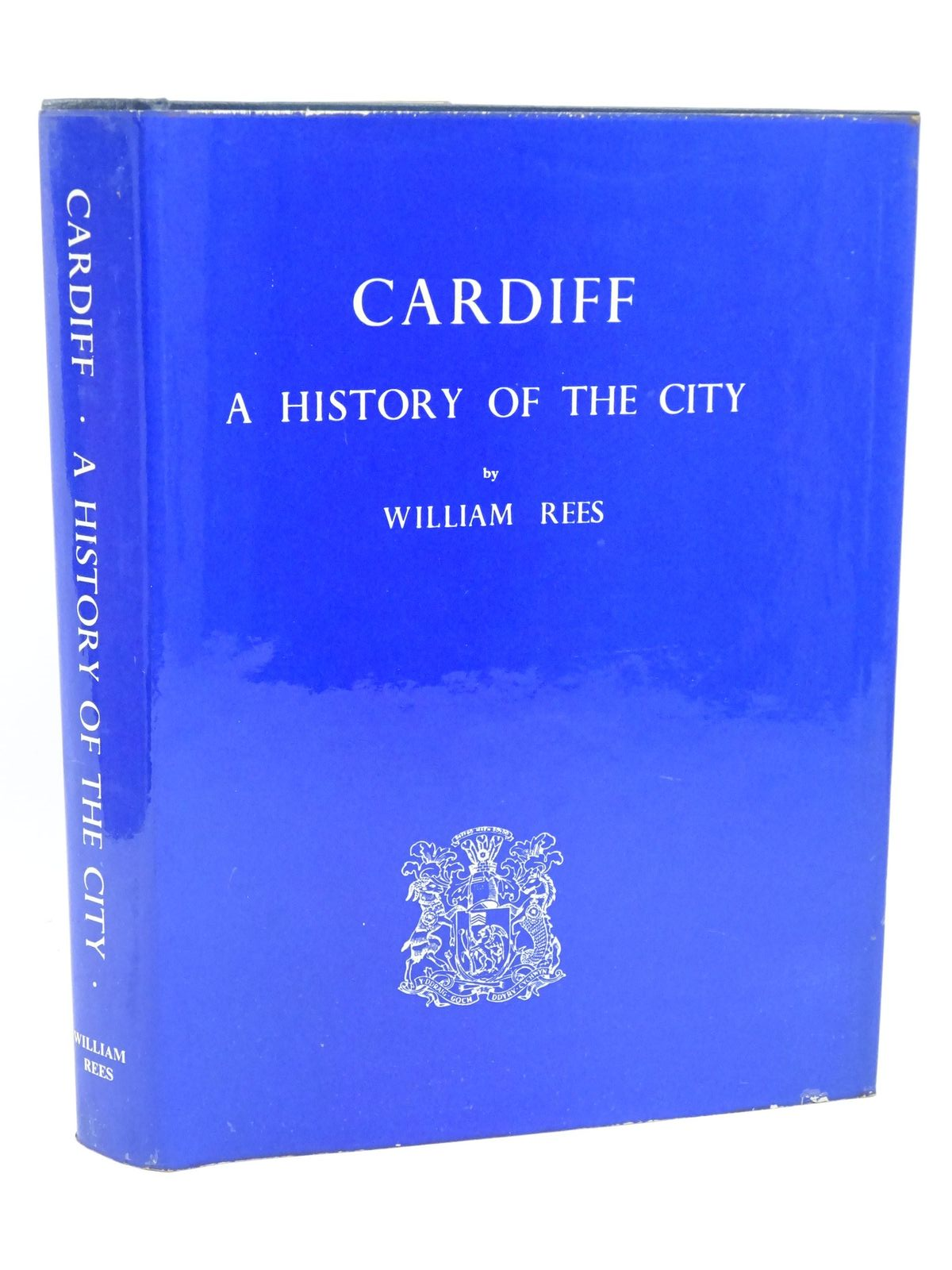 Photo of CARDIFF A HISTORY OF THE CITY written by Rees, William published by The Corporation of Cardiff (STOCK CODE: 1317982)  for sale by Stella & Rose's Books