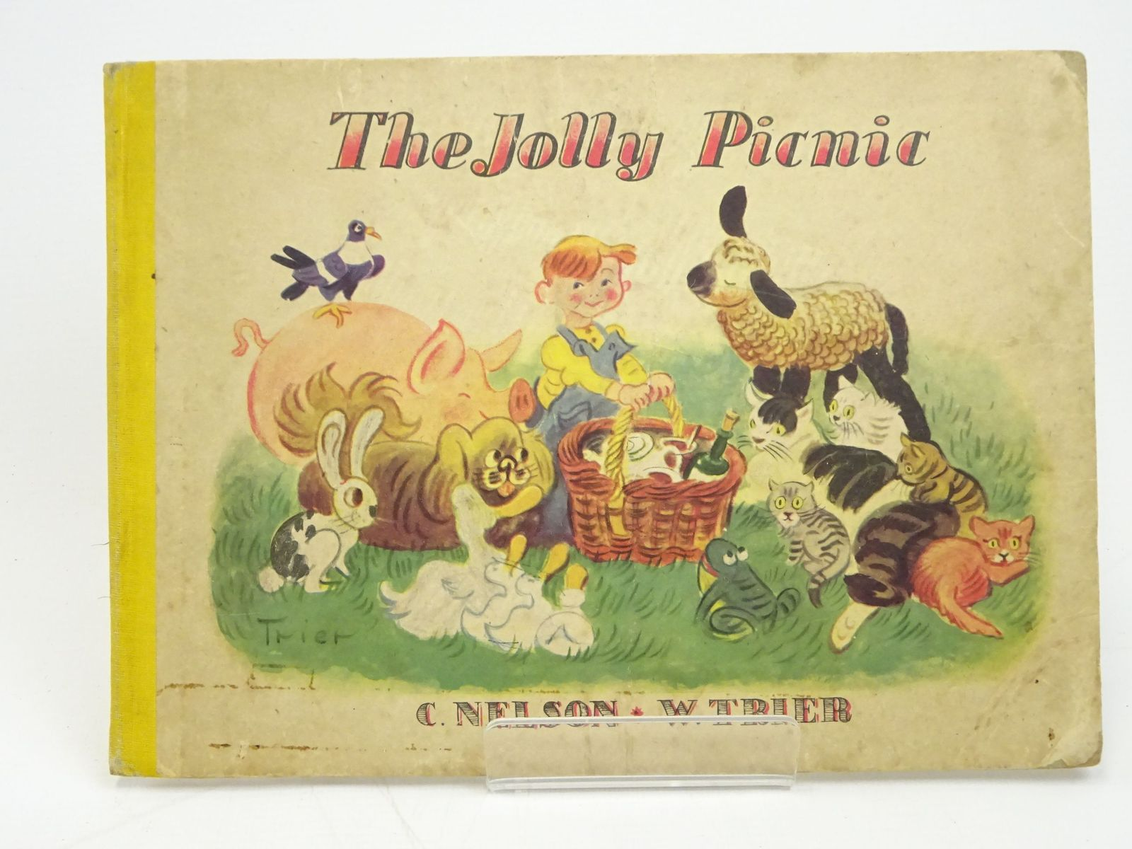 Photo of THE JOLLY PICNIC written by Nelson, C. illustrated by Trier, Walter published by Sylvan Press (STOCK CODE: 1317988)  for sale by Stella & Rose's Books