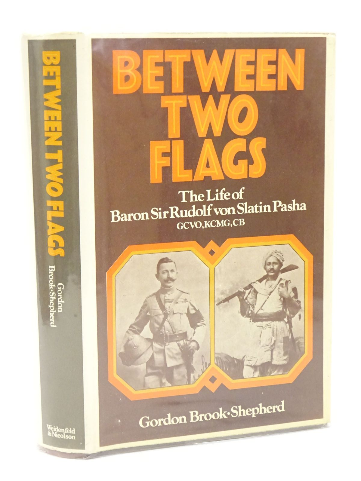 Photo of BETWEEN TWO FLAGS written by Brook-Shepherd, Gordon published by Weidenfeld and Nicolson (STOCK CODE: 1317994)  for sale by Stella & Rose's Books