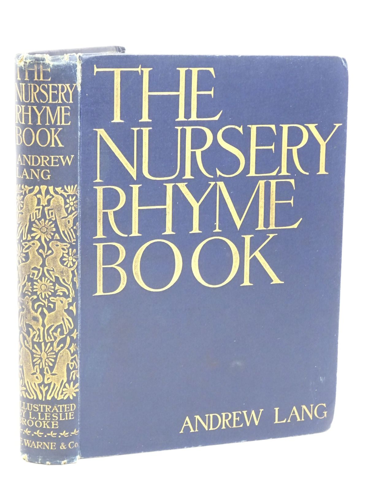 Photo of THE NURSERY RHYME BOOK- Stock Number: 1317995
