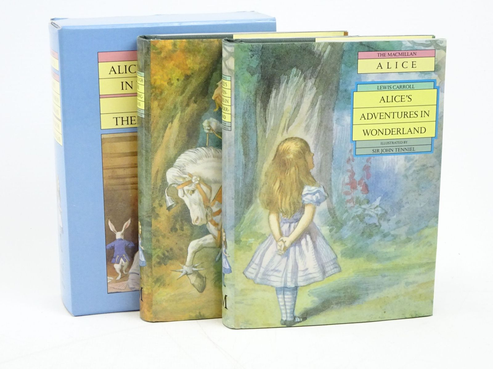 Photo of ALICE'S ADVENTURES IN WONDERLAND AND THROUGH THE LOOKING-GLASS written by Carroll, Lewis illustrated by Tenniel, John published by Macmillan Children's Books (STOCK CODE: 1317997)  for sale by Stella & Rose's Books