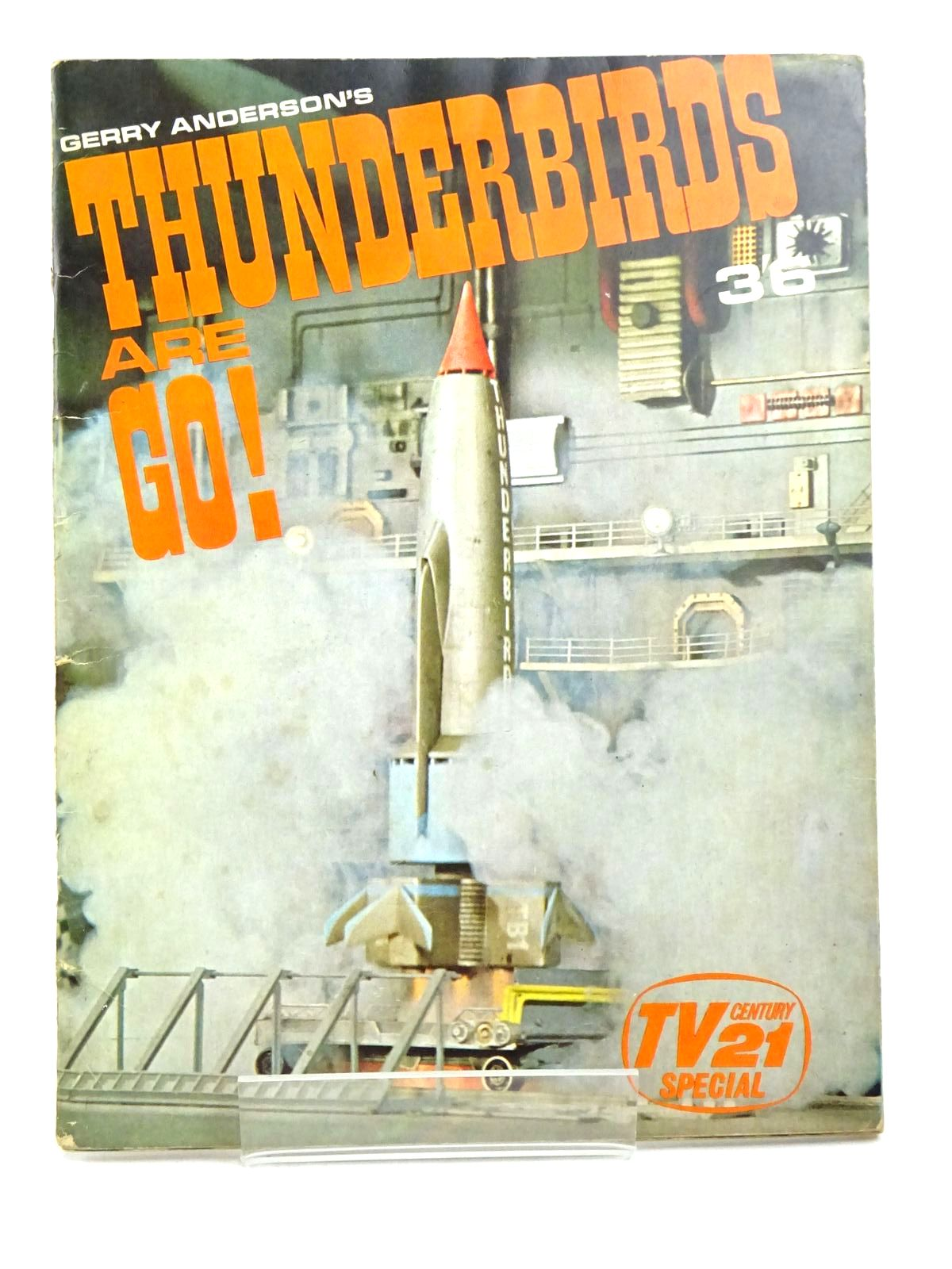 Photo of GERRY ANDERSON'S THUNDERBIRDS ARE GO! published by Century 21 Publishing Ltd., City Magazines Ltd. (STOCK CODE: 1317999)  for sale by Stella & Rose's Books