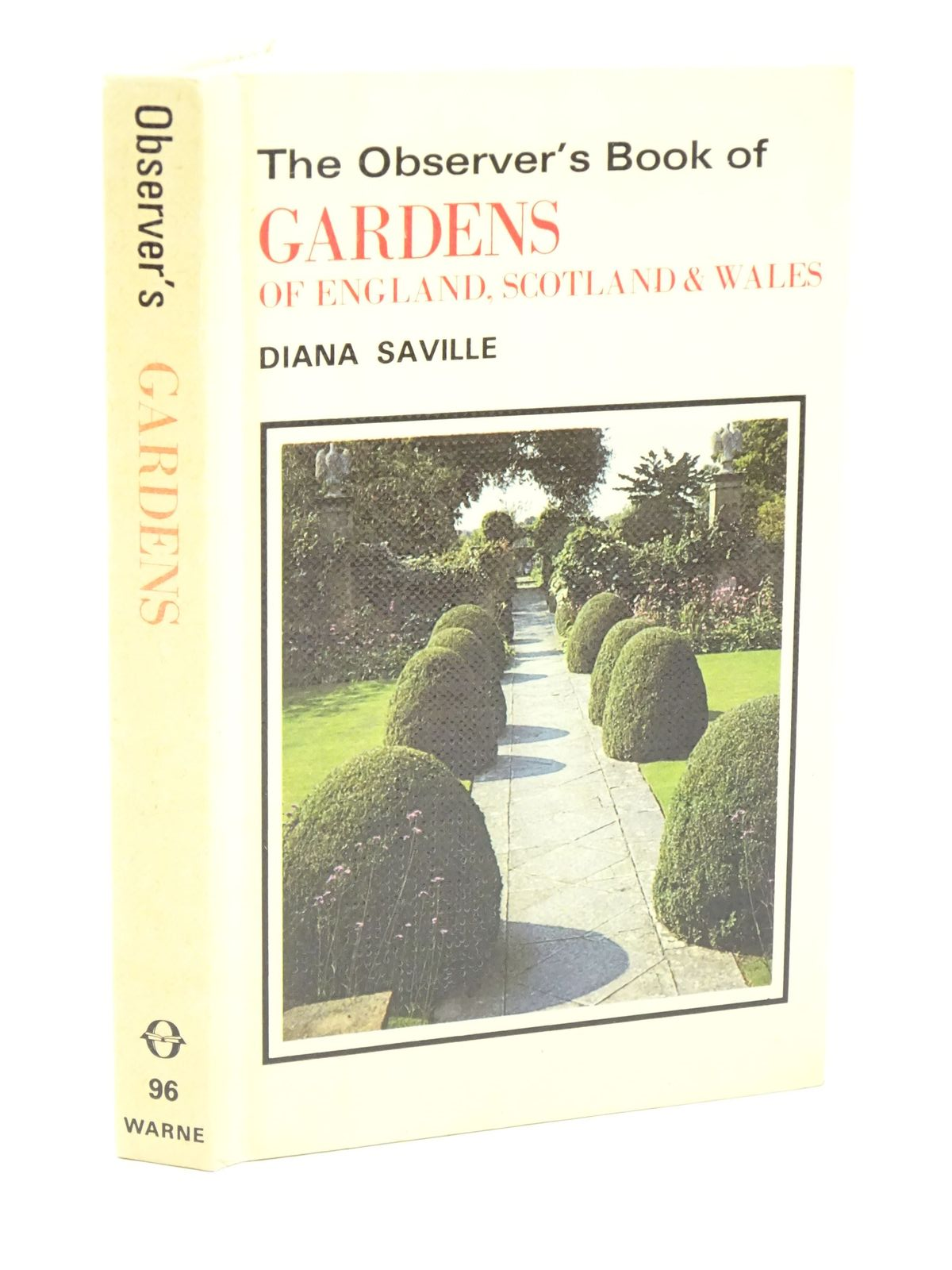 Photo of THE OBSERVER'S BOOK OF GARDENS OF ENGLAND, SCOTLAND & WALES written by Saville, Diana published by Frederick Warne & Co Ltd. (STOCK CODE: 1318009)  for sale by Stella & Rose's Books