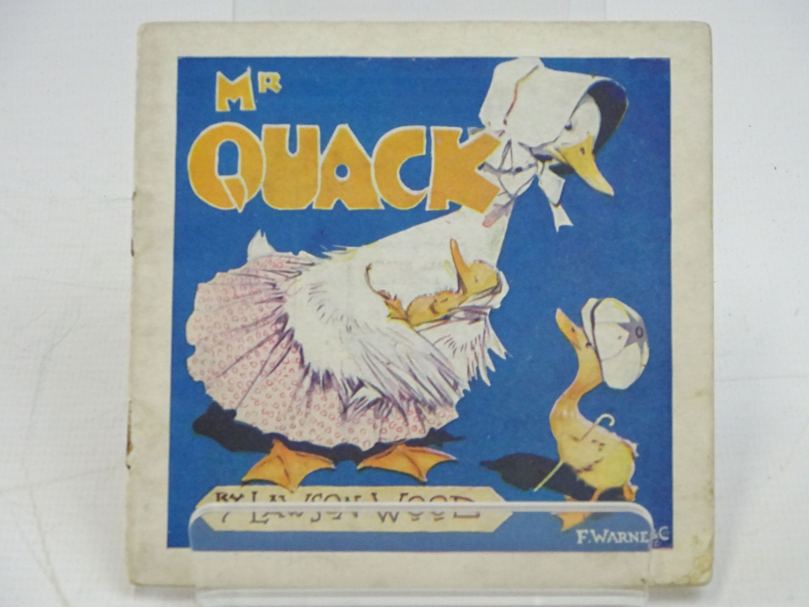 Photo of MR QUACK - HIS VOYAGE TO LONDON- Stock Number: 1318034