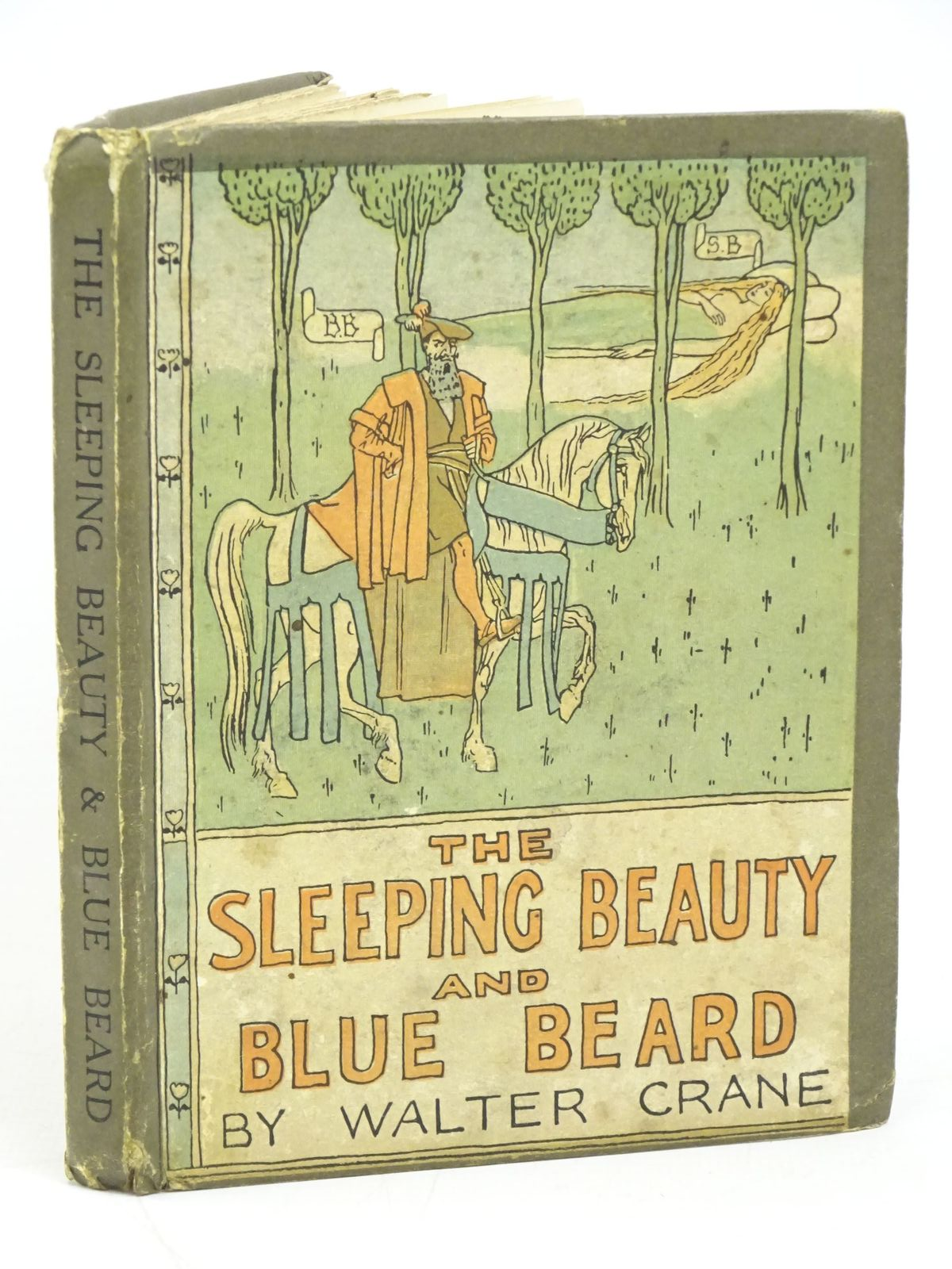 Photo of THE SLEEPING BEAUTY AND BLUE BEARD written by Crane, Walter illustrated by Crane, Walter published by John Lane The Bodley Head (STOCK CODE: 1318036)  for sale by Stella & Rose's Books
