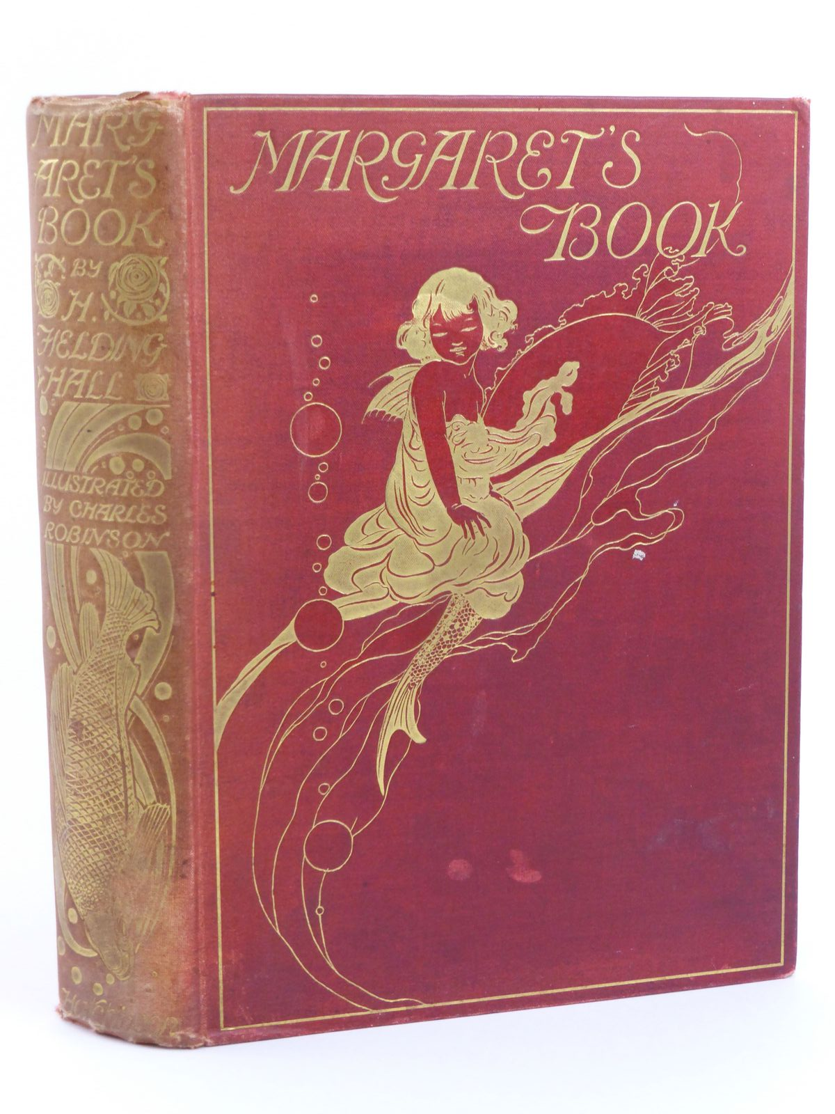 Photo of MARGARET'S BOOK written by Fielding-Hall, H. Miles, Alfred H. illustrated by Robinson, Charles published by Hutchinson & Co. (STOCK CODE: 1318046)  for sale by Stella & Rose's Books